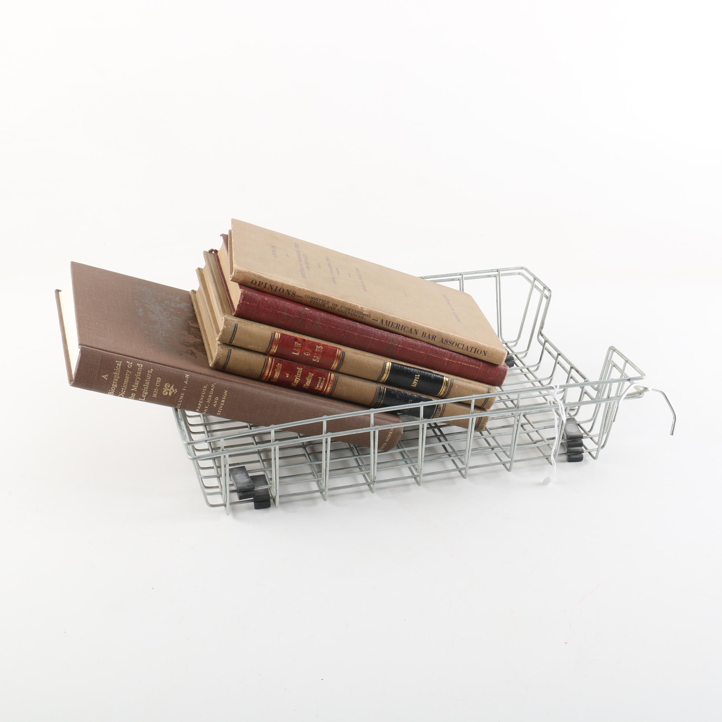 1920s-1980s Legal Books