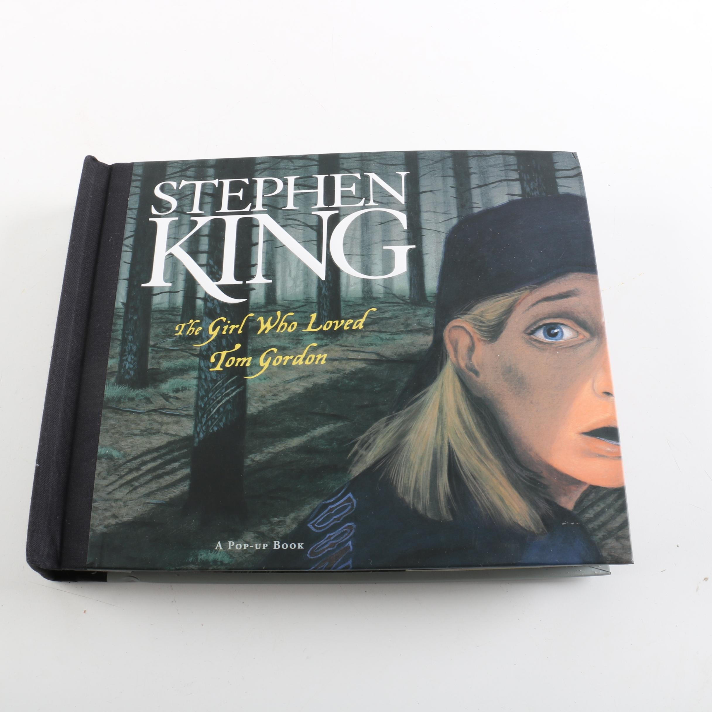 """2004 """"The Girl who Loved Tom Gordon"""" by Stephen King Pop-Up Book"""