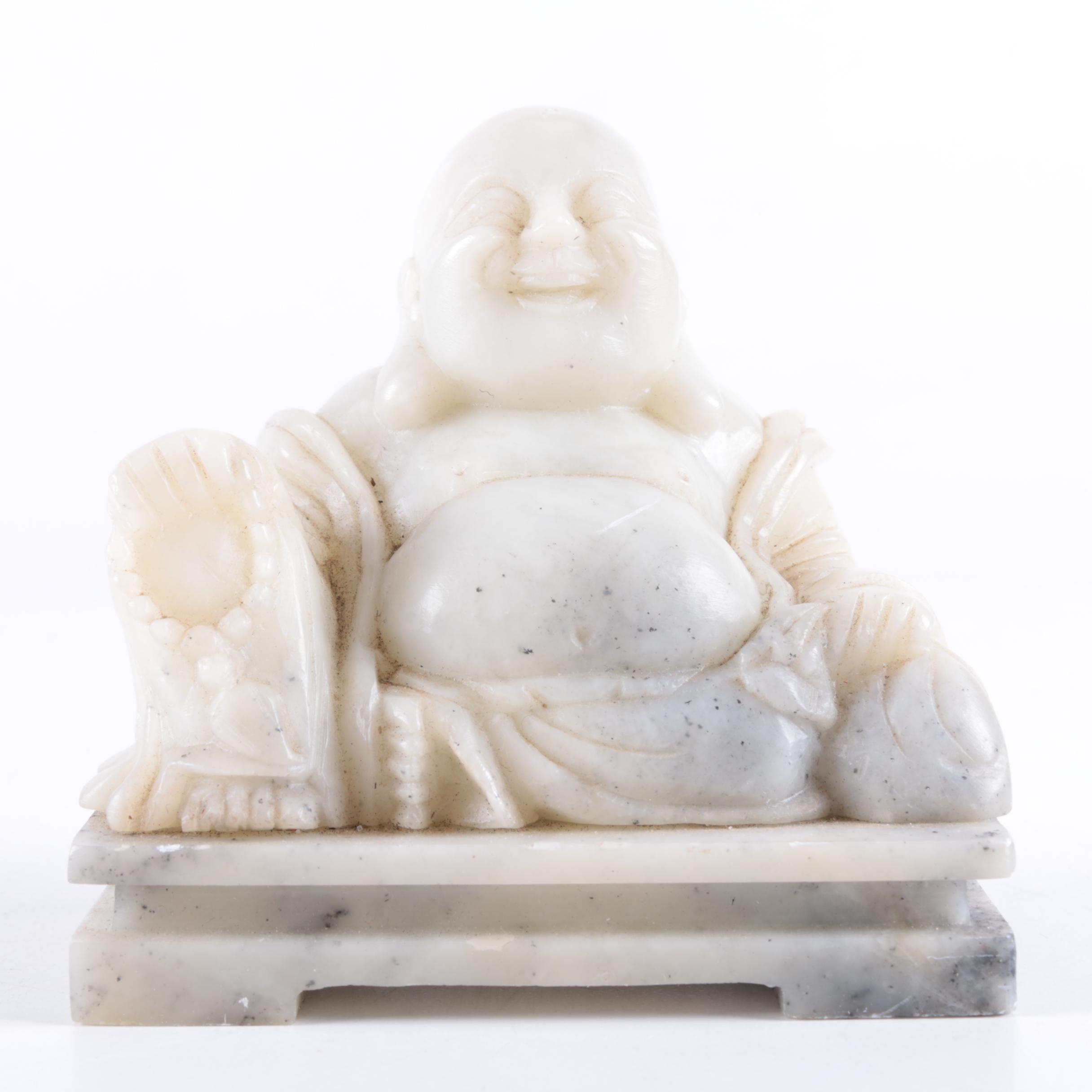 Soapstone Budai Figurine
