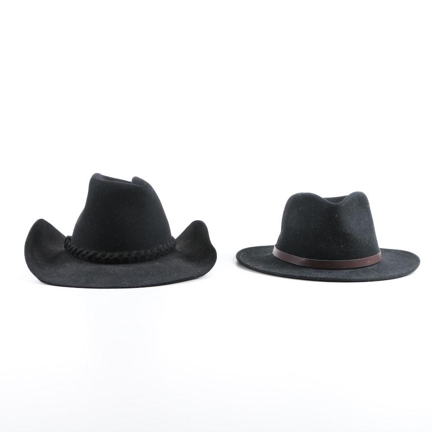 9435039cc880c9 Western Wear Beaver and Wool Felt Hats : EBTH