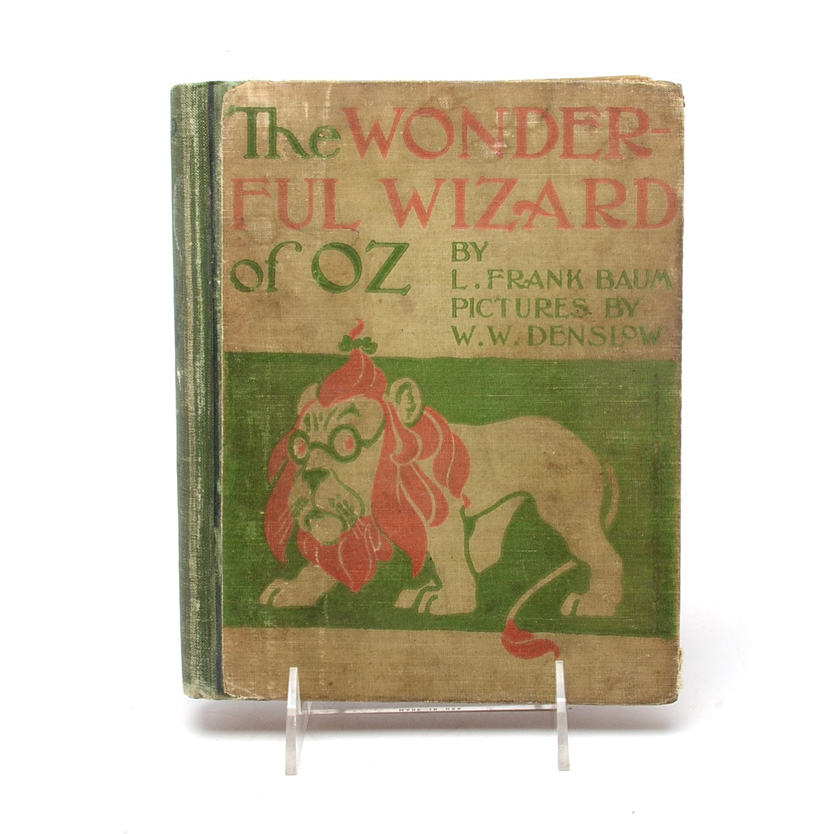 """First Edition, Second State """"The Wonderful Wizard of Oz"""" in Hardcover"""