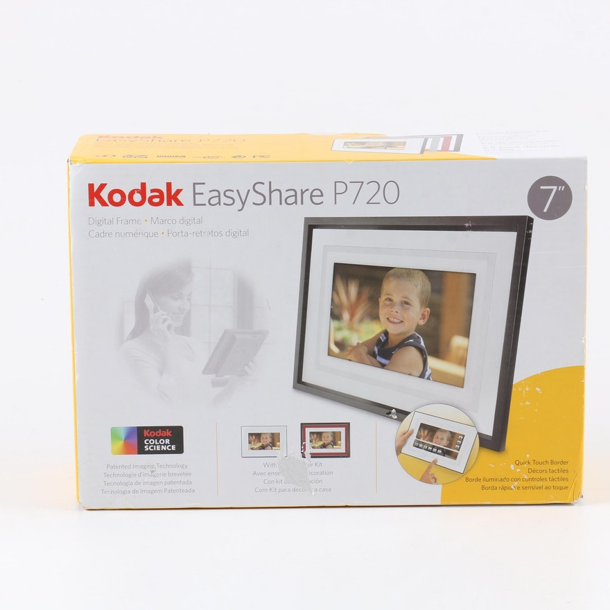 Kodak Easy Share P720 Seven Inch Digital Frame : EBTH