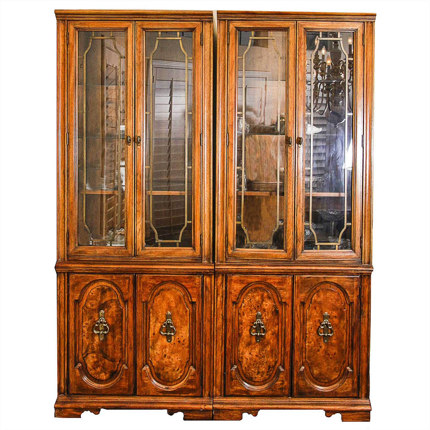 Mediterranean Style China Cabinets
