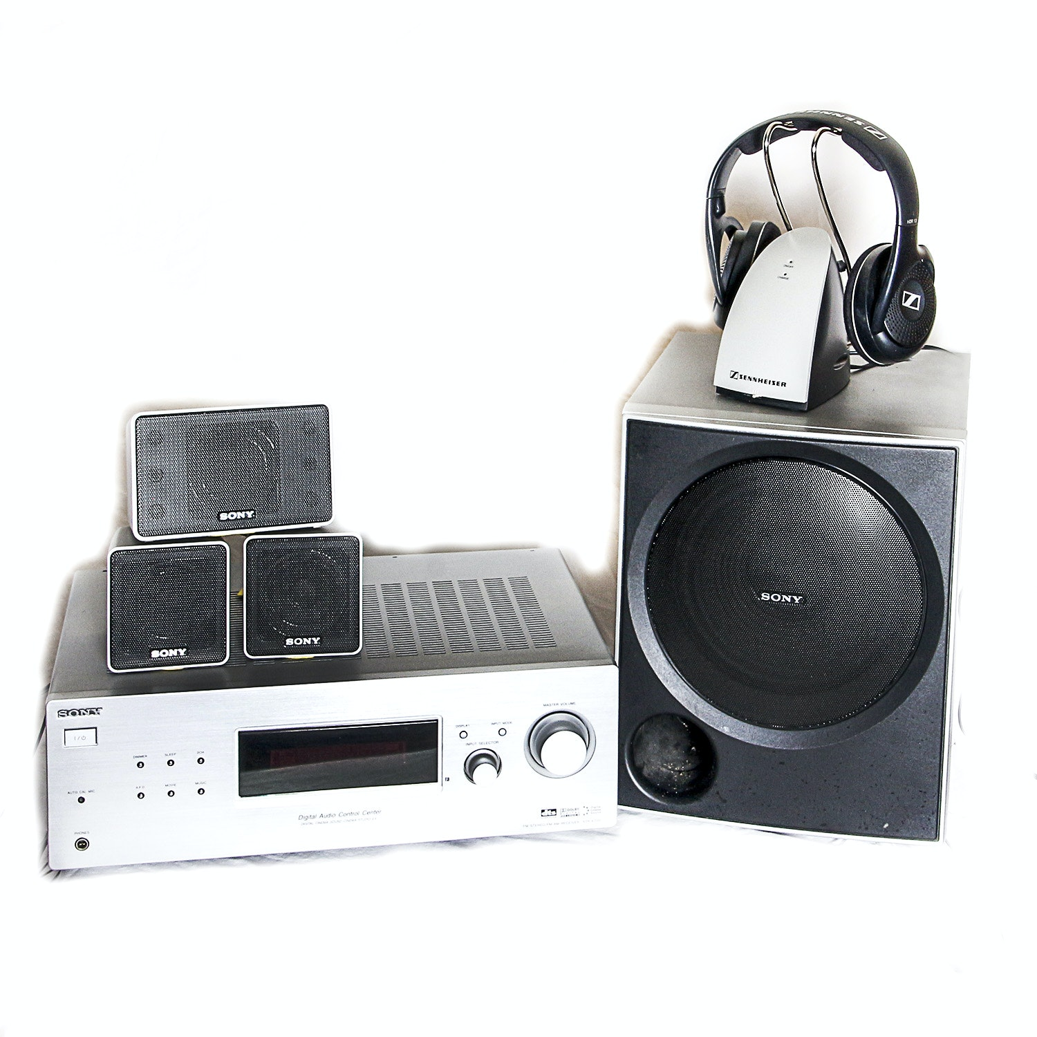 Sony and Sennheiser Electronics and Headphones