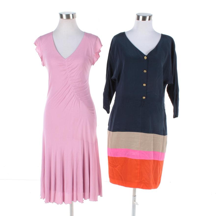 072d3c791ba0 Eliza J and Lida Baday Silk Dresses   EBTH