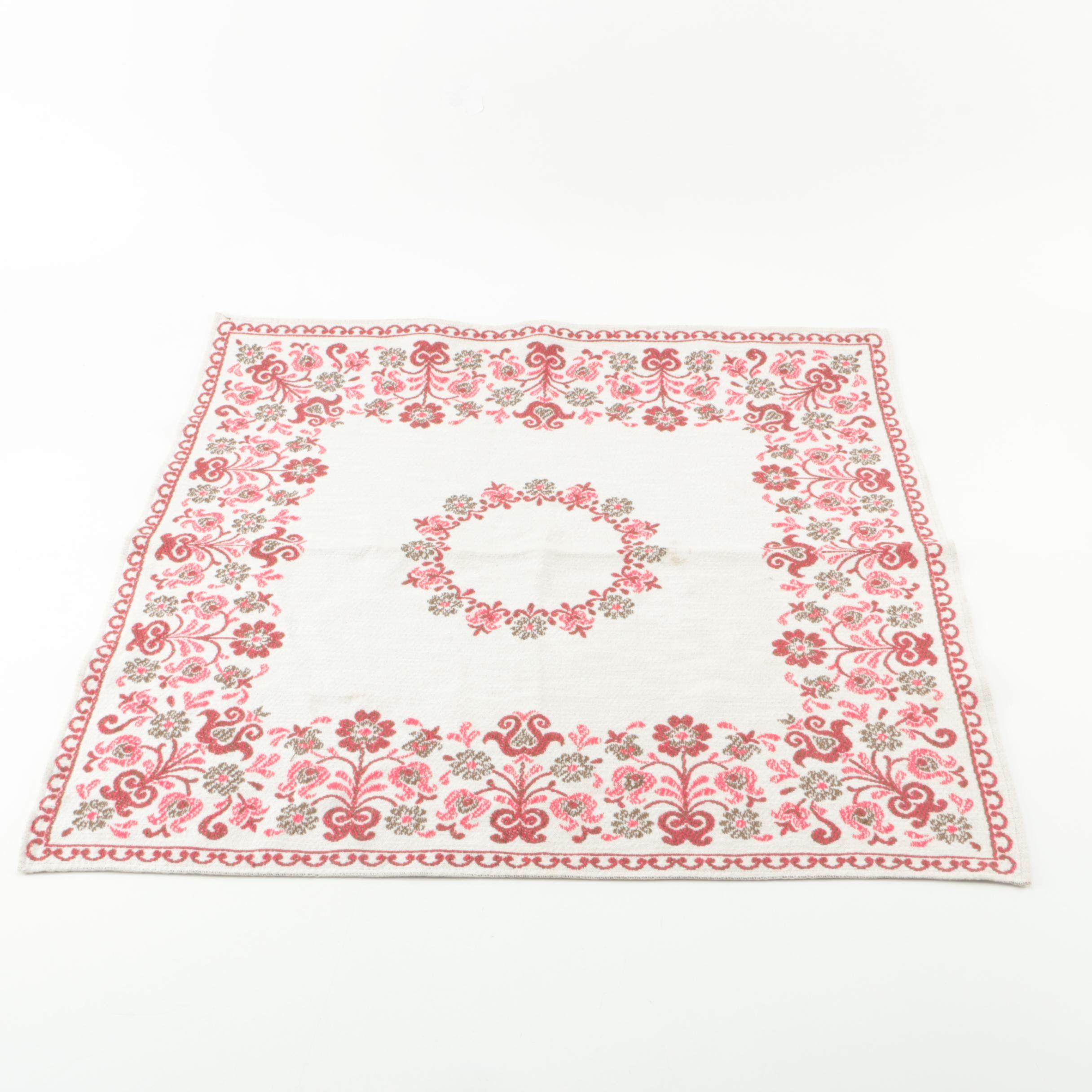 Woven Table Cloth