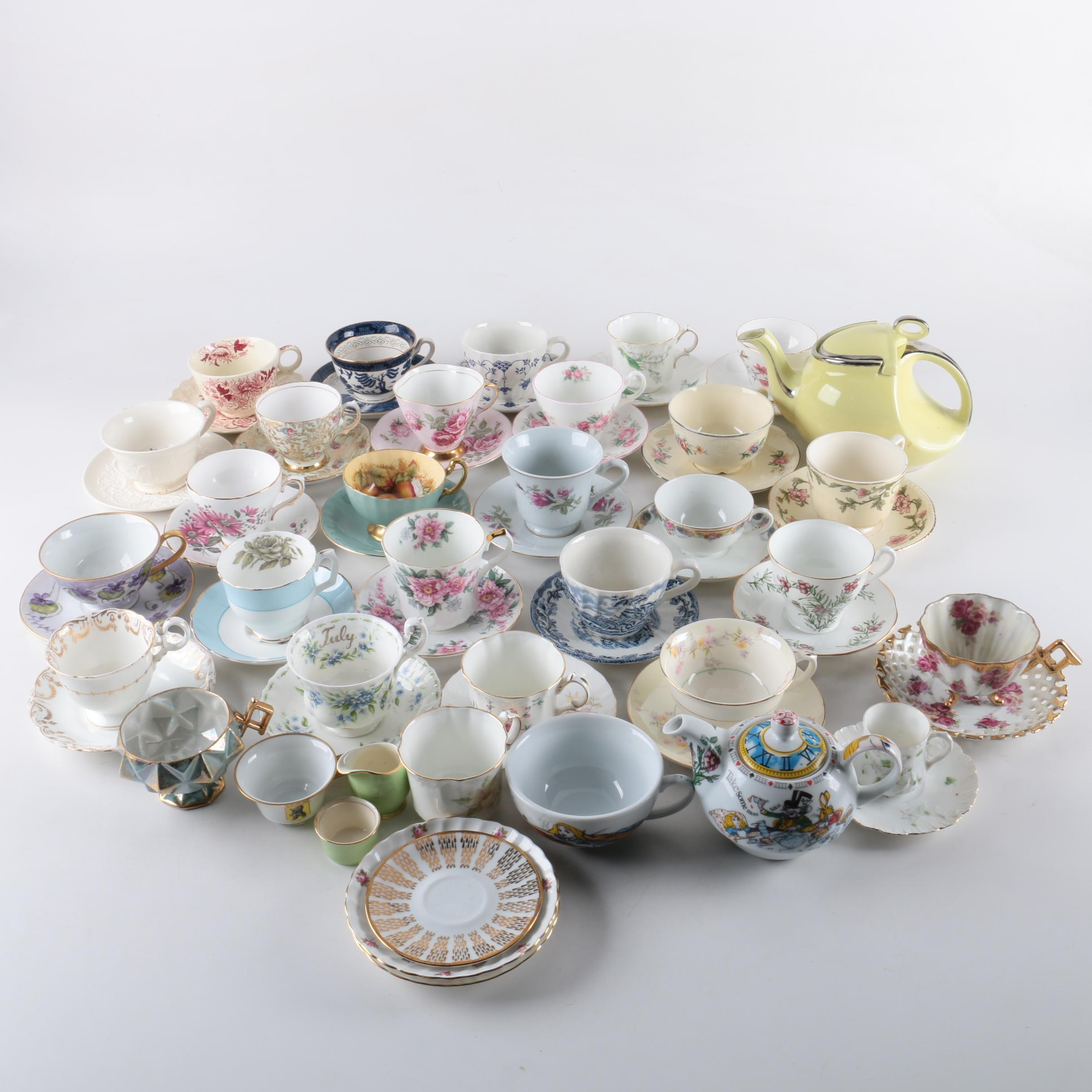Tea Serving Ware Featuring Hall