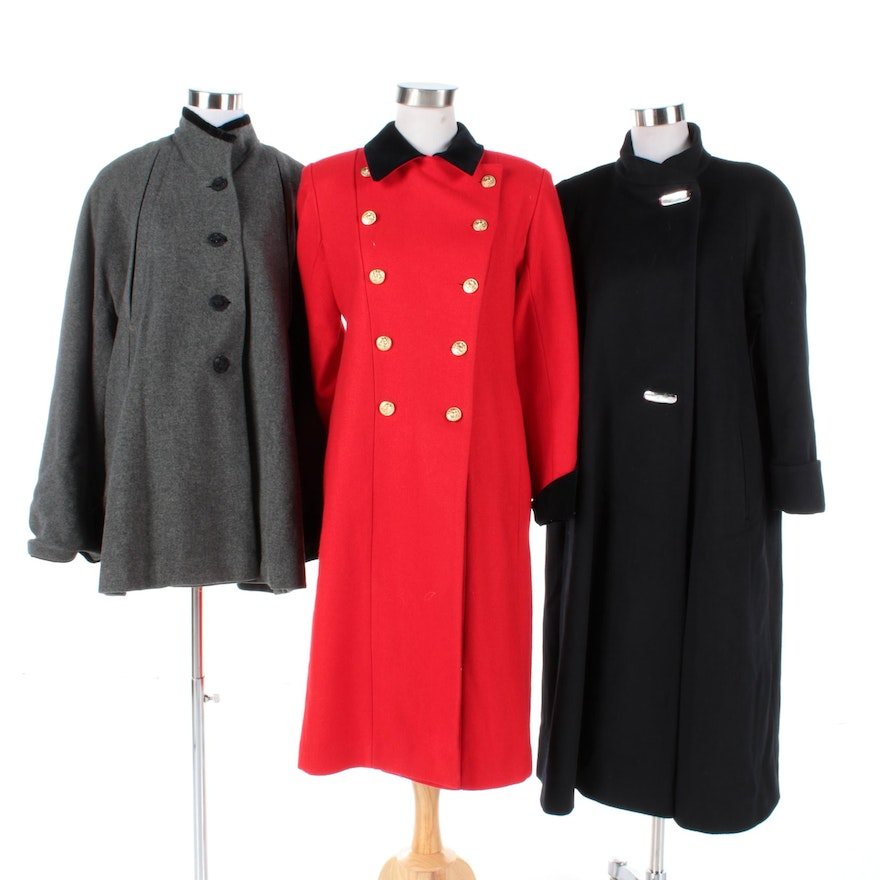 55a41398b3 Women s Vintage Wool Coats Including Rothschild and Leslie Fay   EBTH