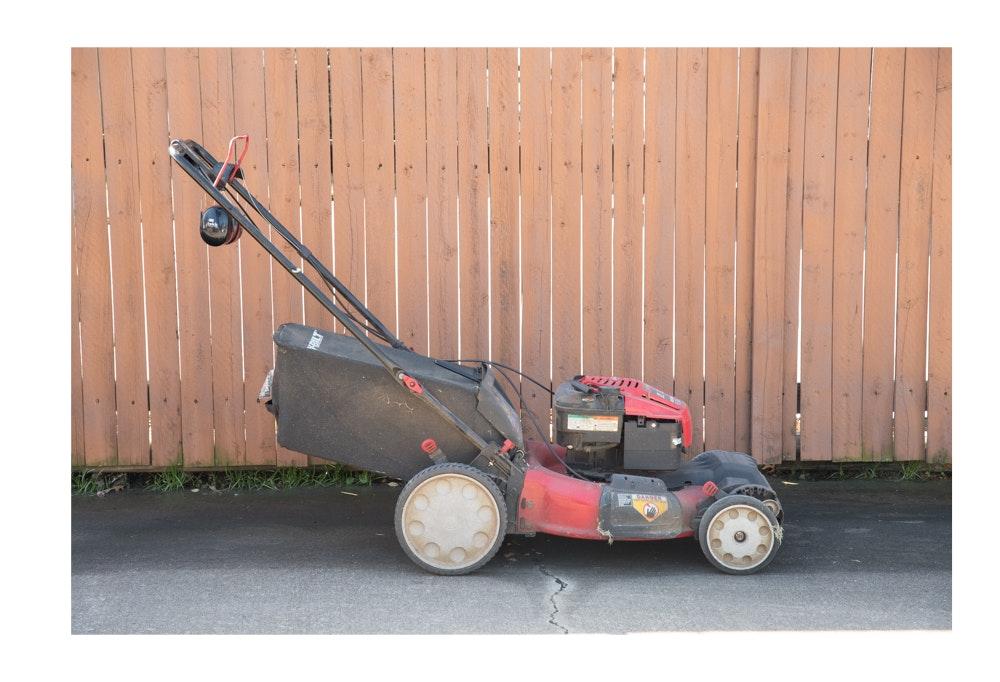 "Troy-Bilt 21"" Self-Propelled Lawnmower with Briggs & Stratton Engine"