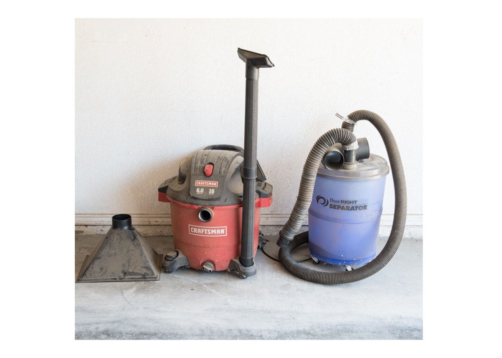 Craftsman ShopVac and Dust Right Separator