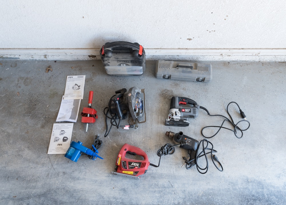 Power Tools Including Jigsaws