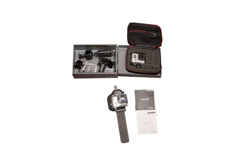 GoPro Hero3+ Silver Edition Camera with Accessories
