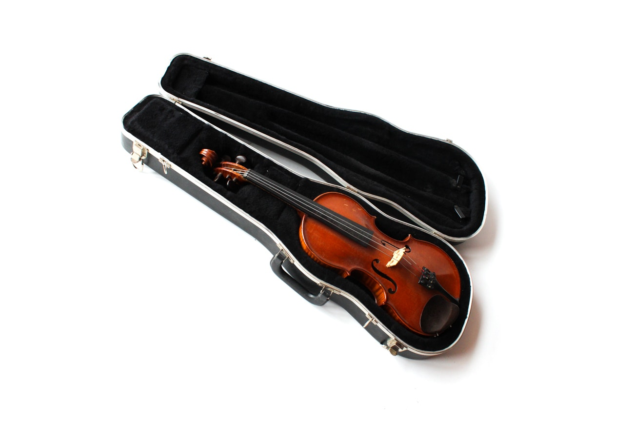 Violin After Carrodus with Case