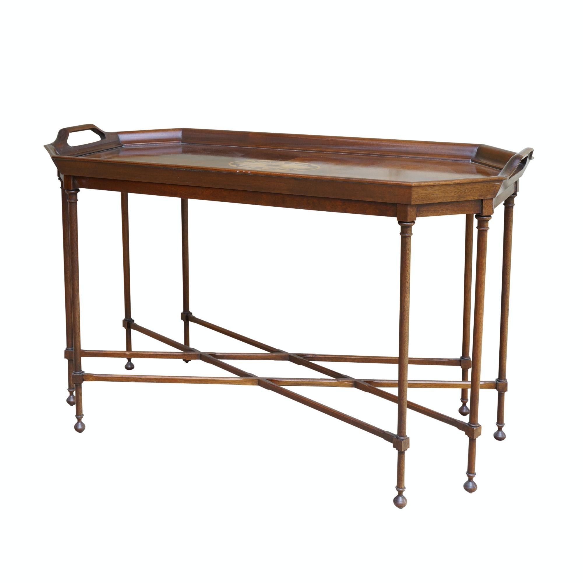 Mahogany Tray Table by Councill