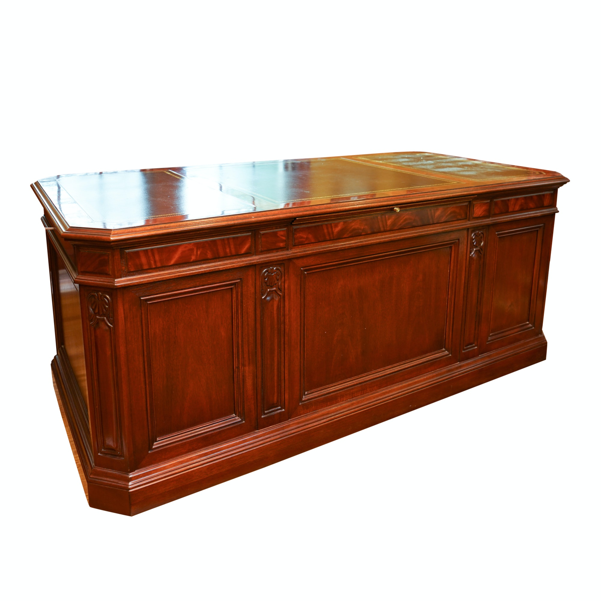 Mahogany Executive Desk by Sligh