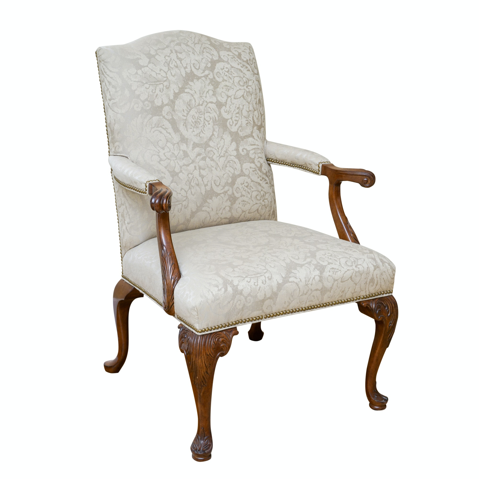 Chippendale Style Armchair by Councill