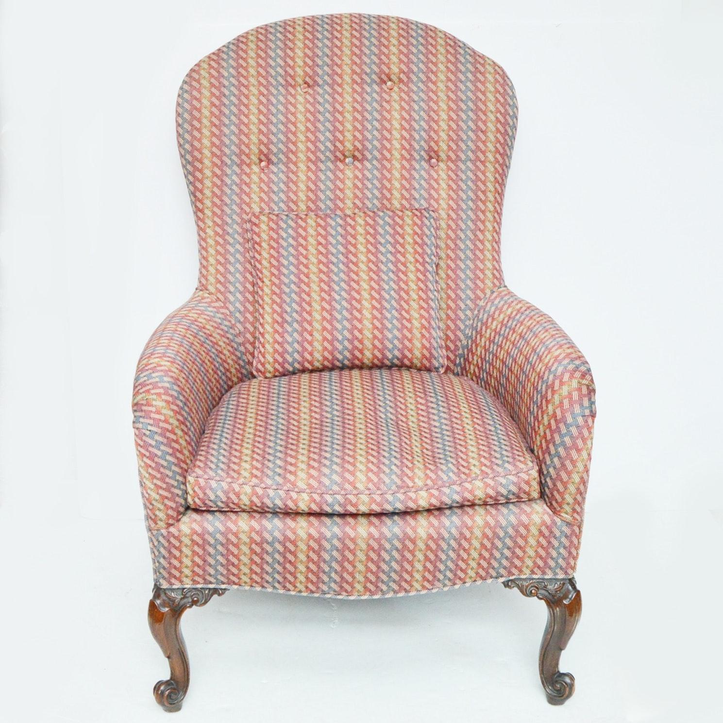 Queen Anne Style Armchair