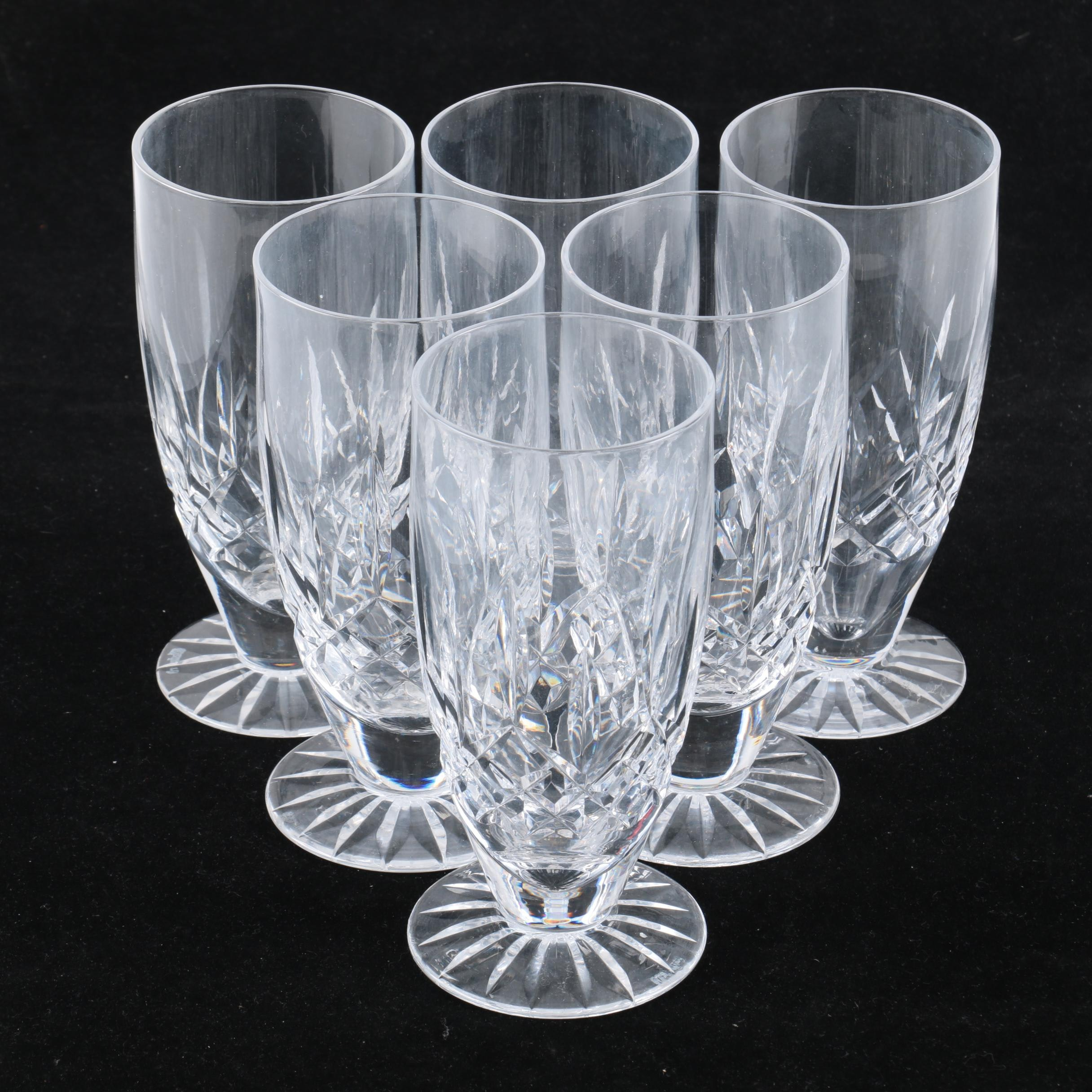 "Waterford Crystal ""Lismore"" Ice Tea Glasses"
