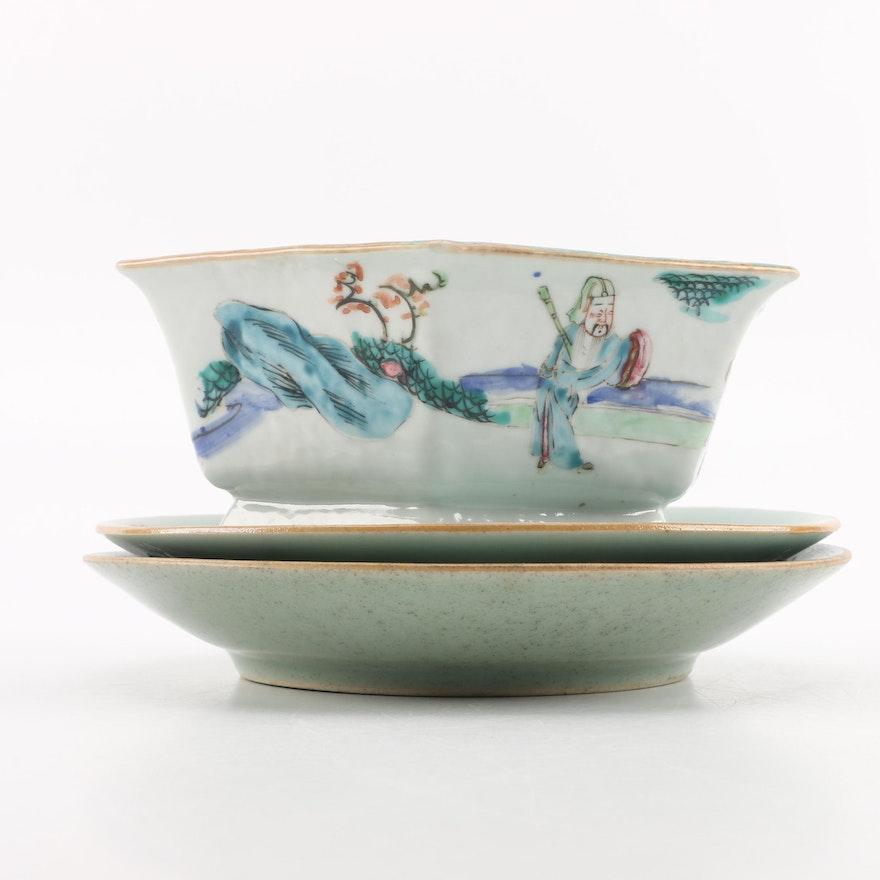 Antique Chinese Disheore Ebth