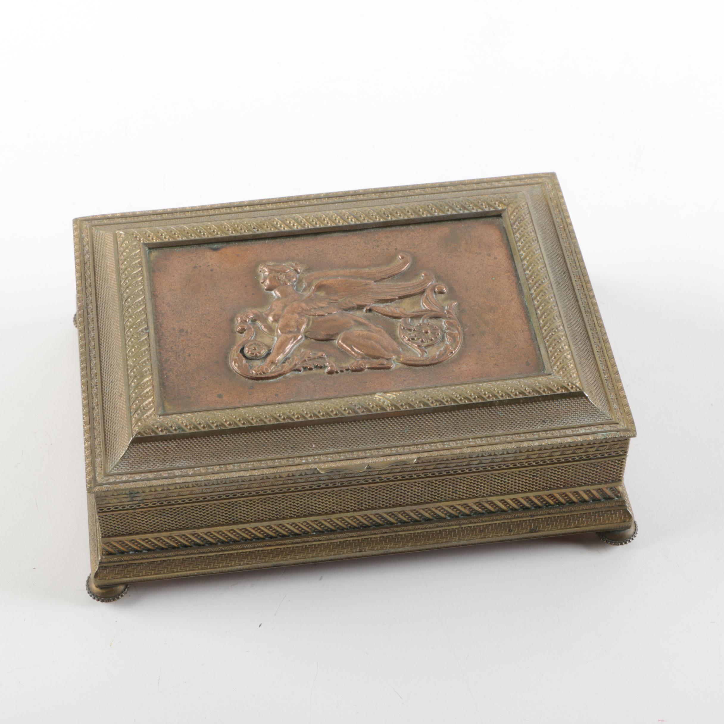 Greco-European Style Sphinx Motif Vanity Box