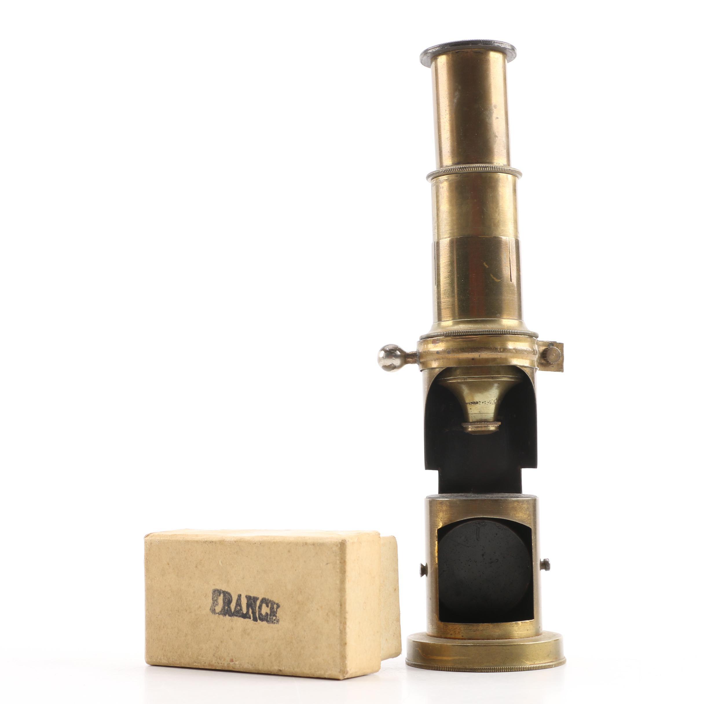Antique Brass Microscope Barrels