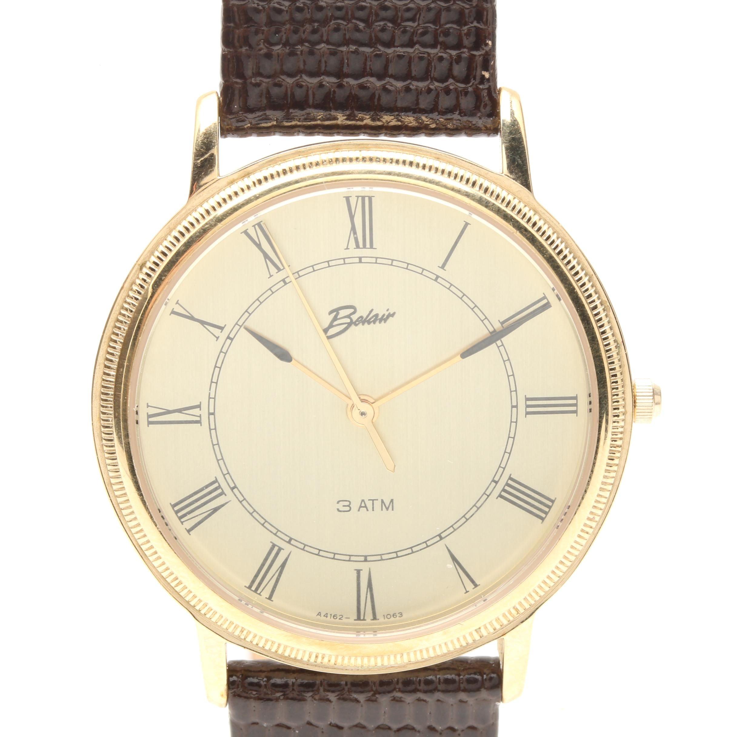 Gold Tone Belair Wristwatch