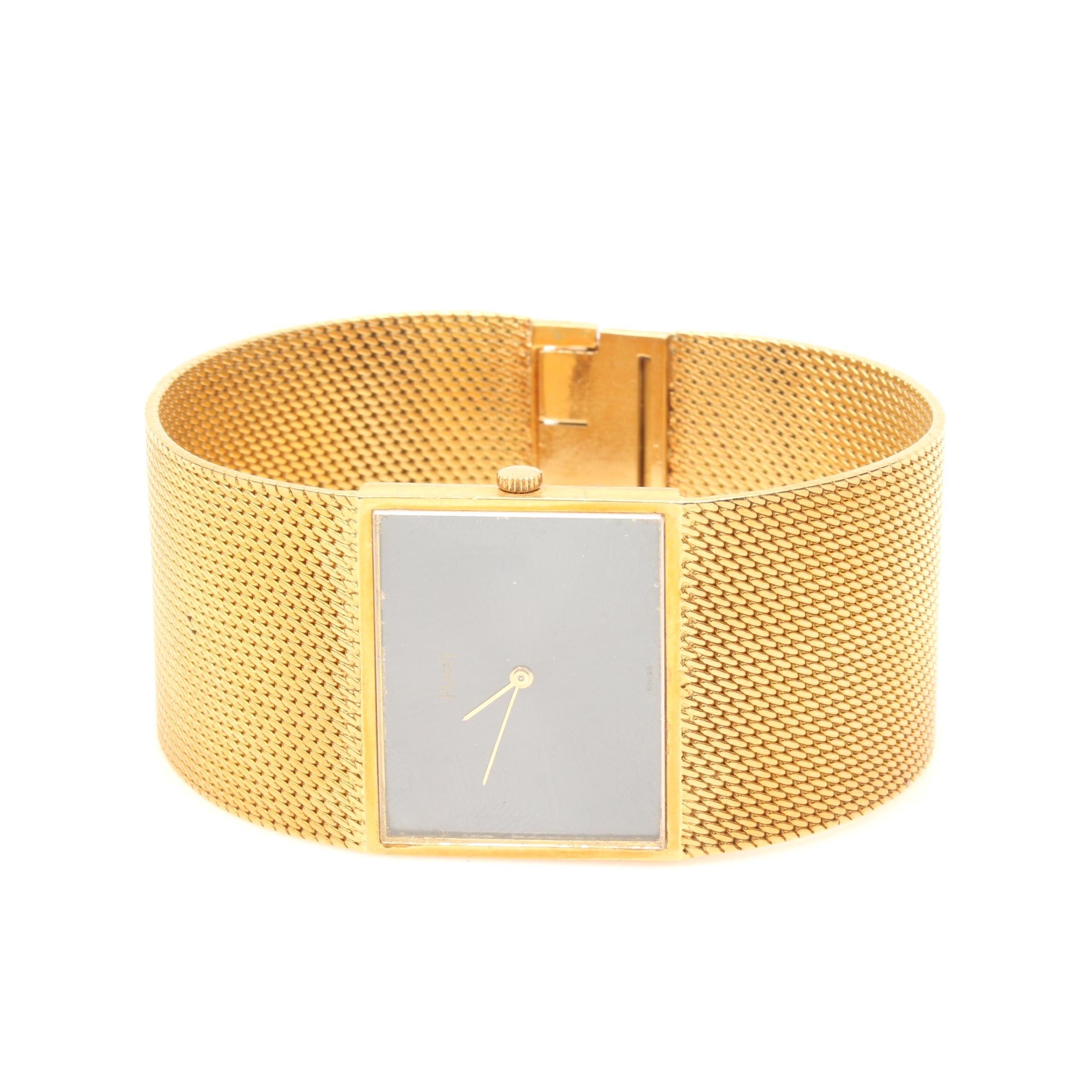 18K Yellow Gold Piaget Wristwatch