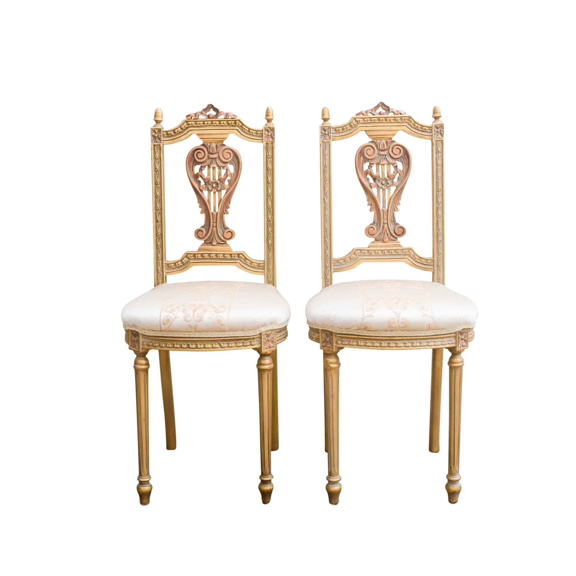 Vintage Louis XVI Style Side Chairs
