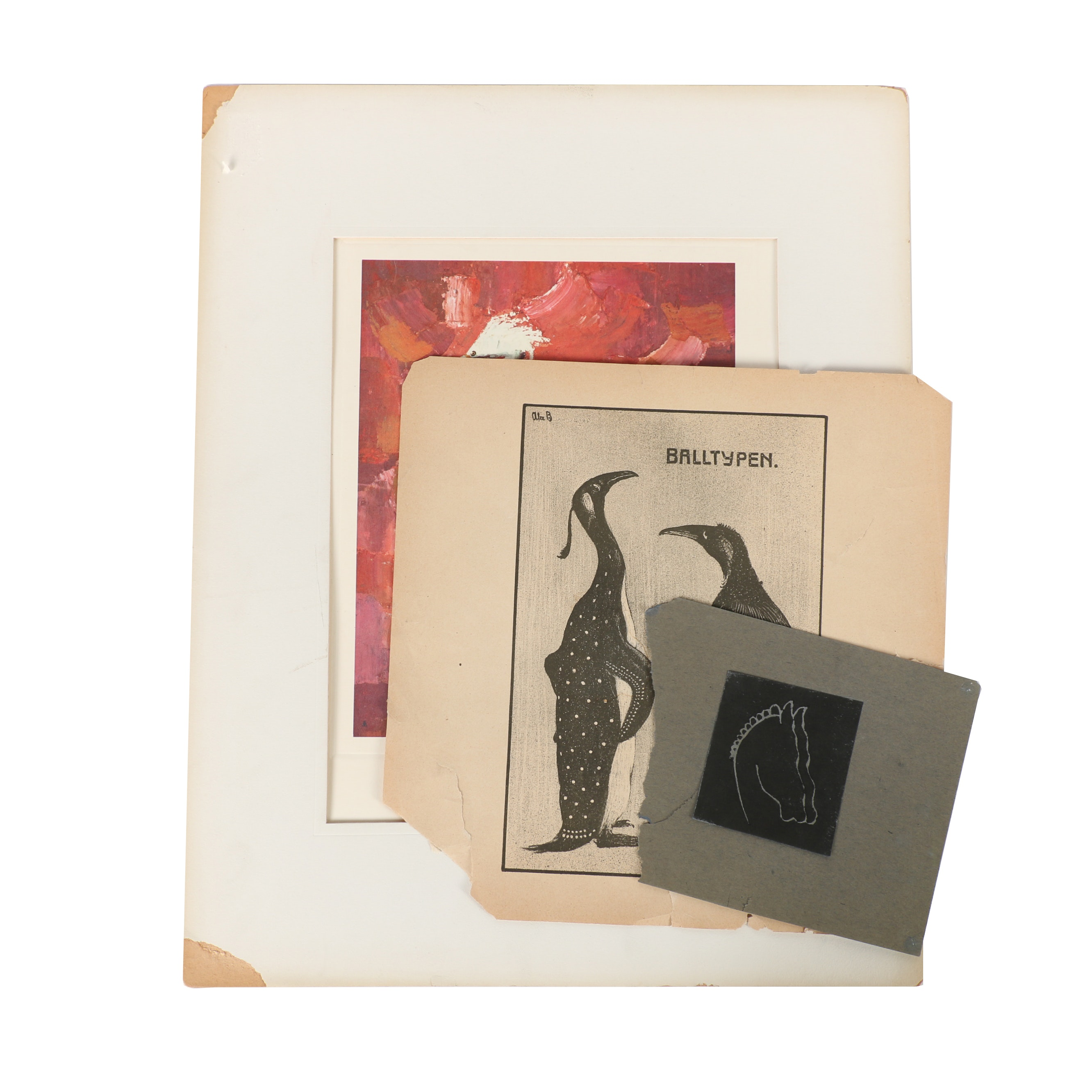 Reproduction Prints After Painting and Etchings Featuring E. Fred Anderson