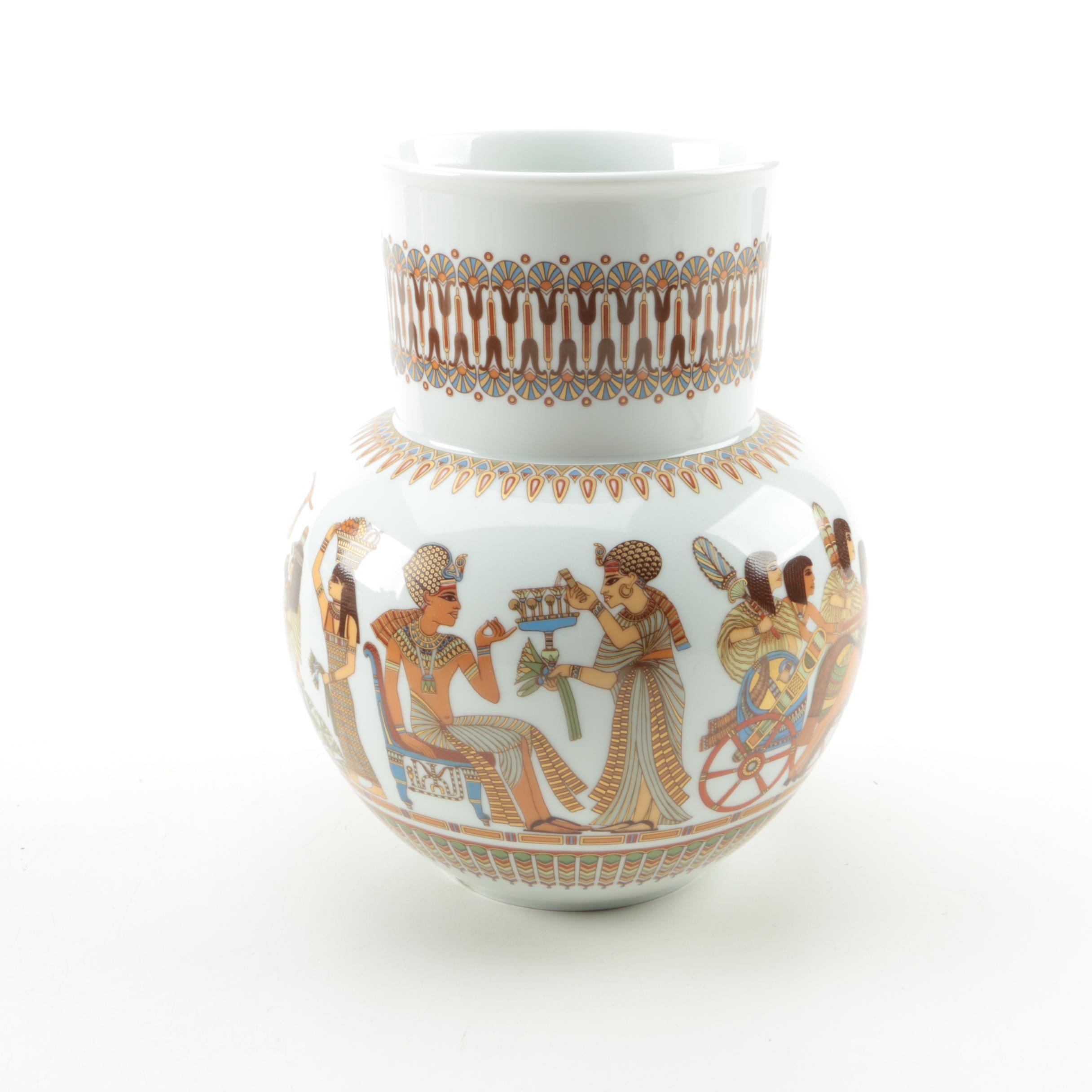 "Vintage Kaiser ""Luxor"" Porcelain Vase"