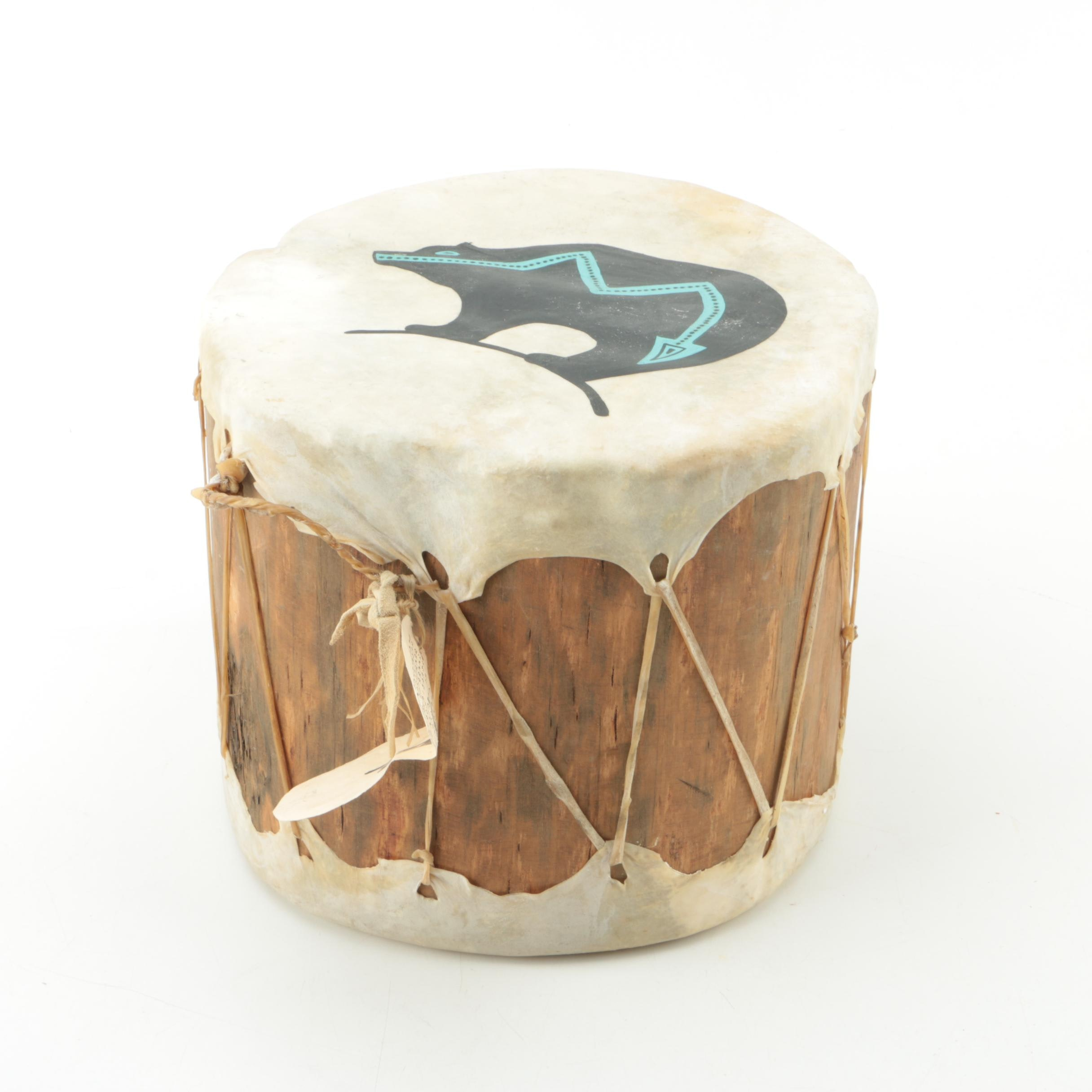 Native American Style Drum