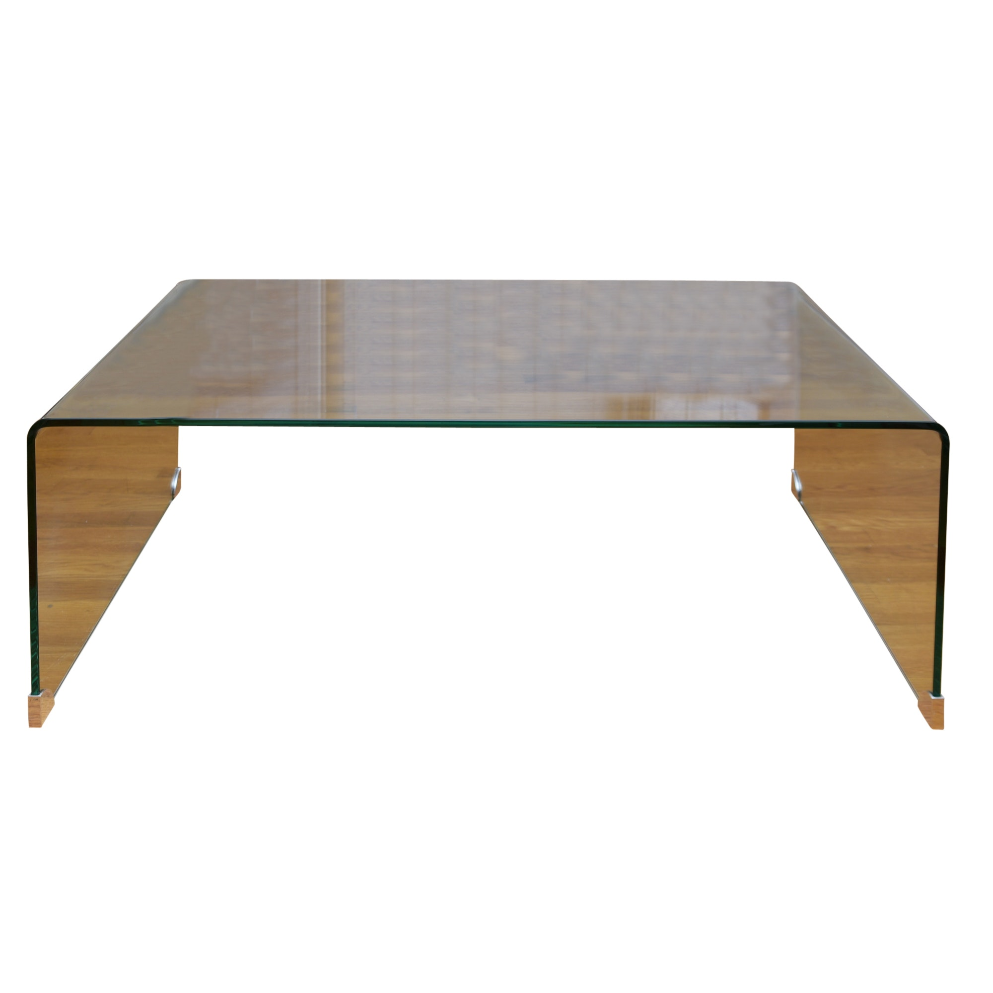 Molded Tempered Glass Coffee Table