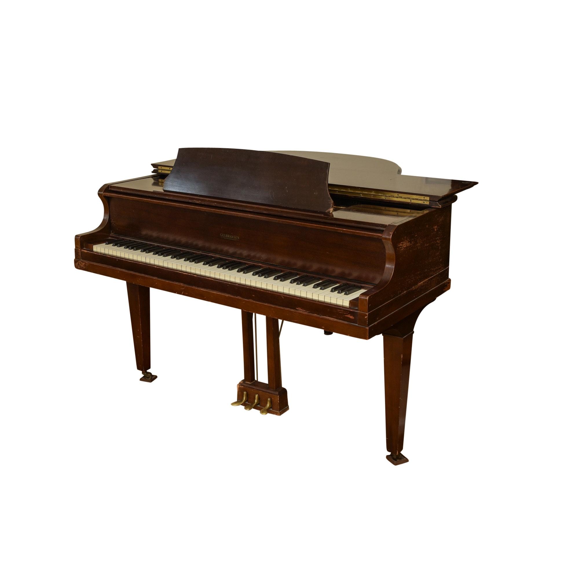 Vintage Gulbransen Baby Grand Piano