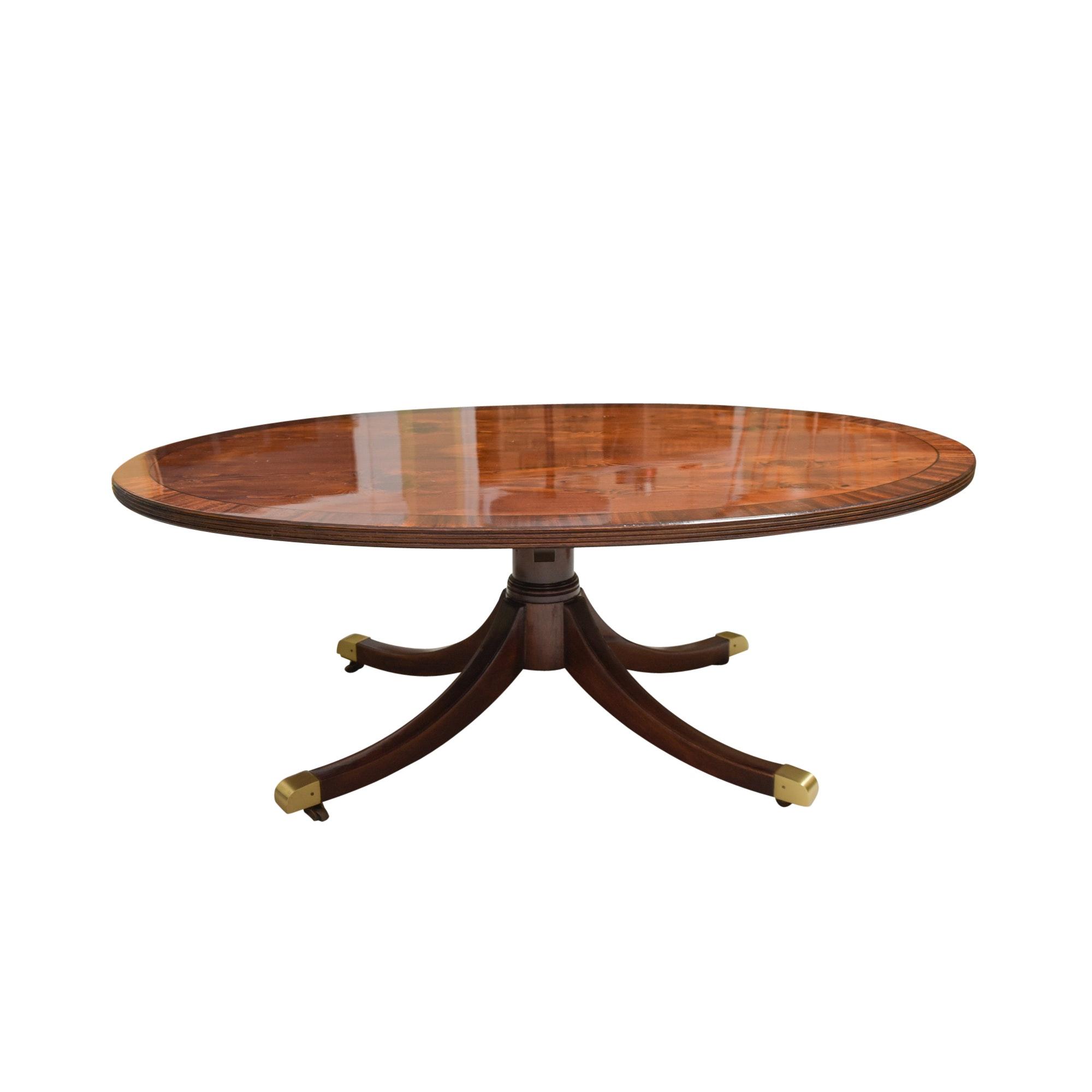 Vintage Regency Style Coffee Table by Wm. A. Berkey Furniture