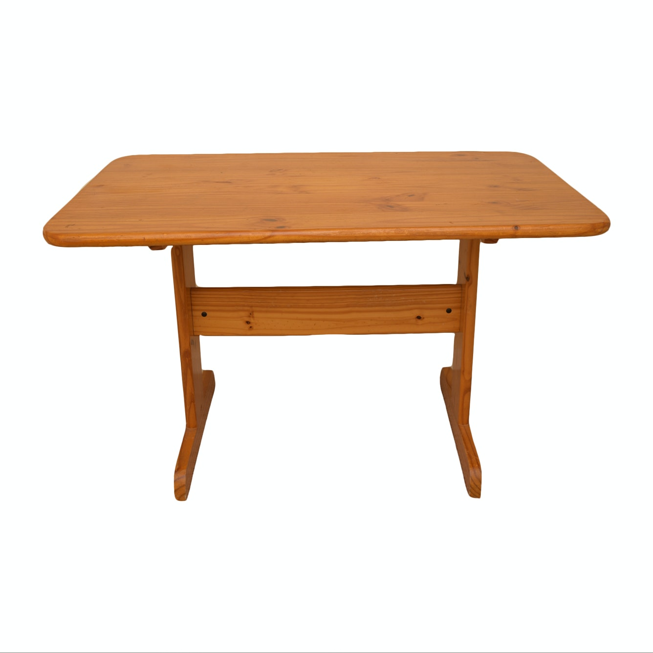 Pine Trestle Dining Table