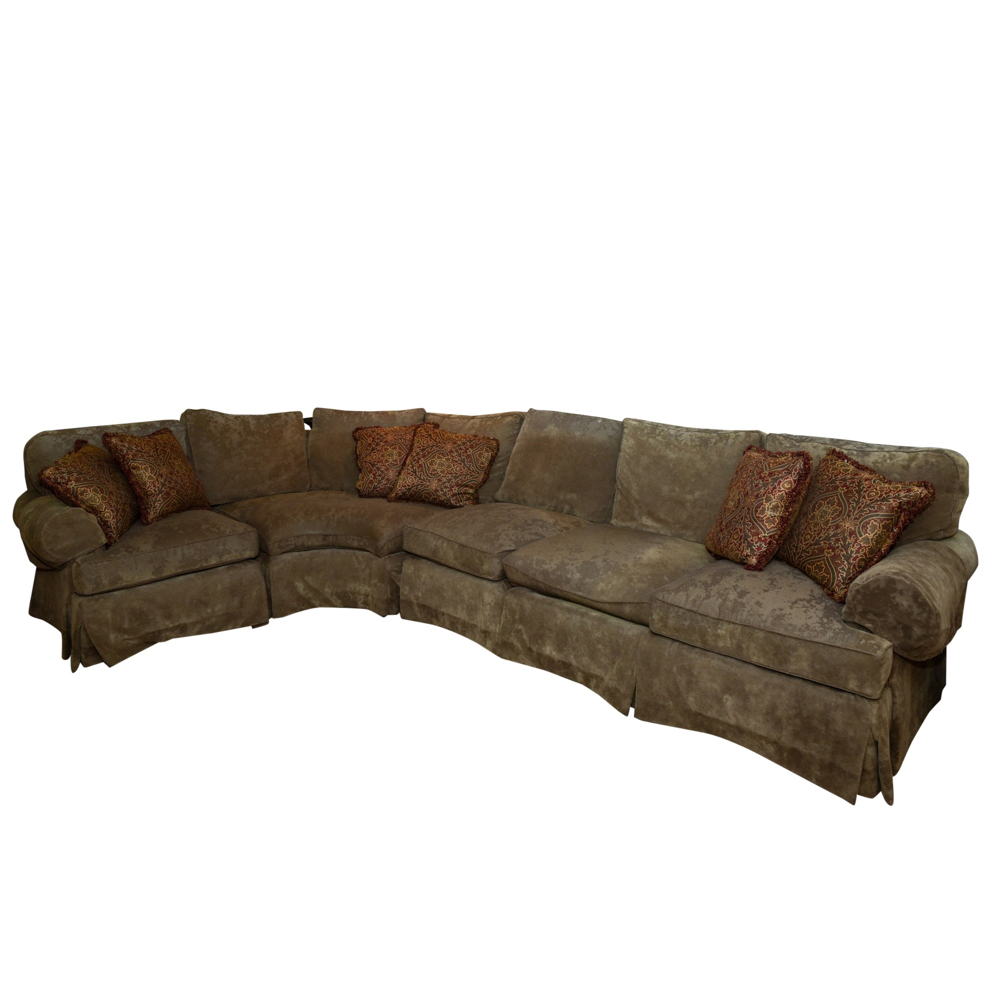 Olive Sectional Sofa by Henredon