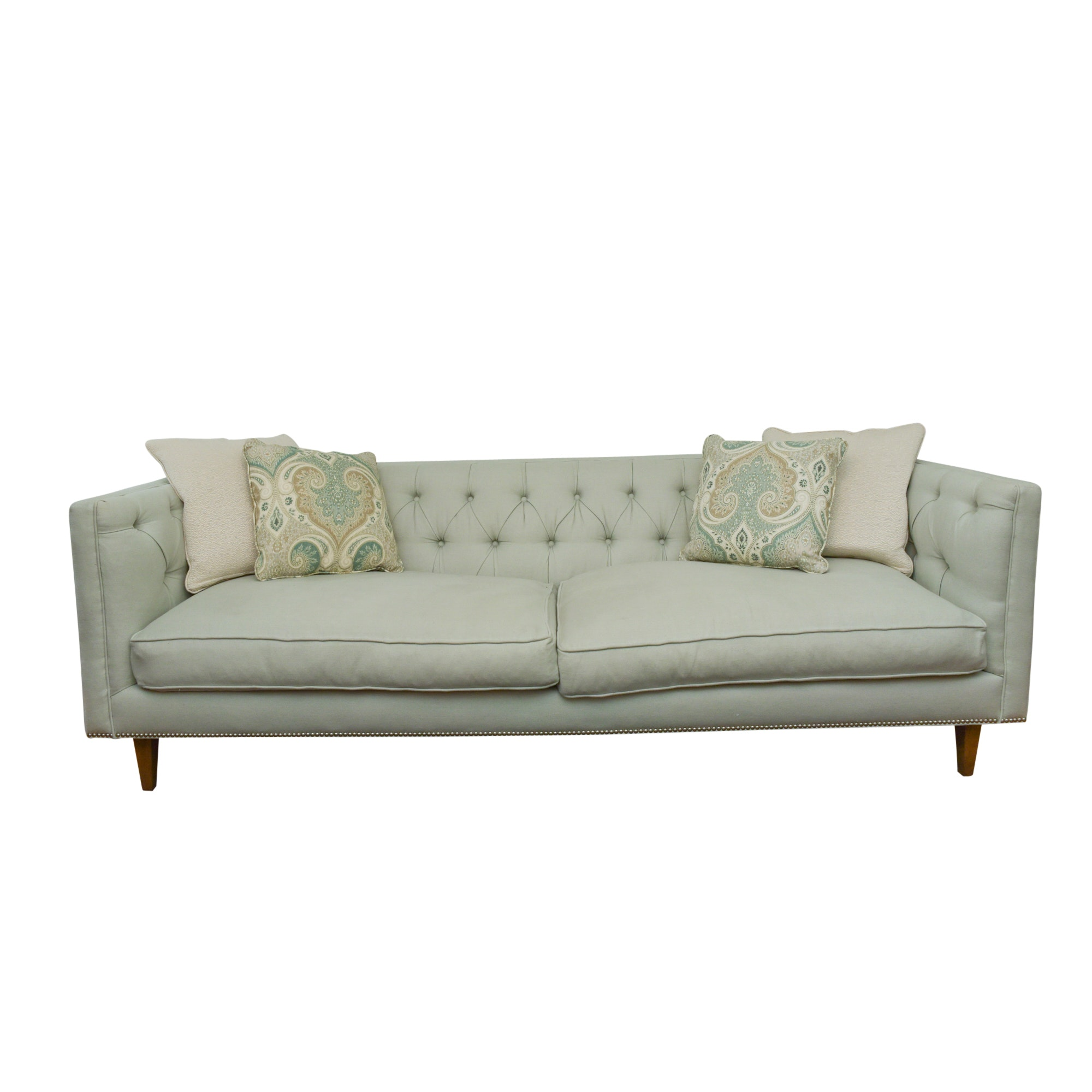 Contemporary Upholstered Box Sofa by Robin Bruce