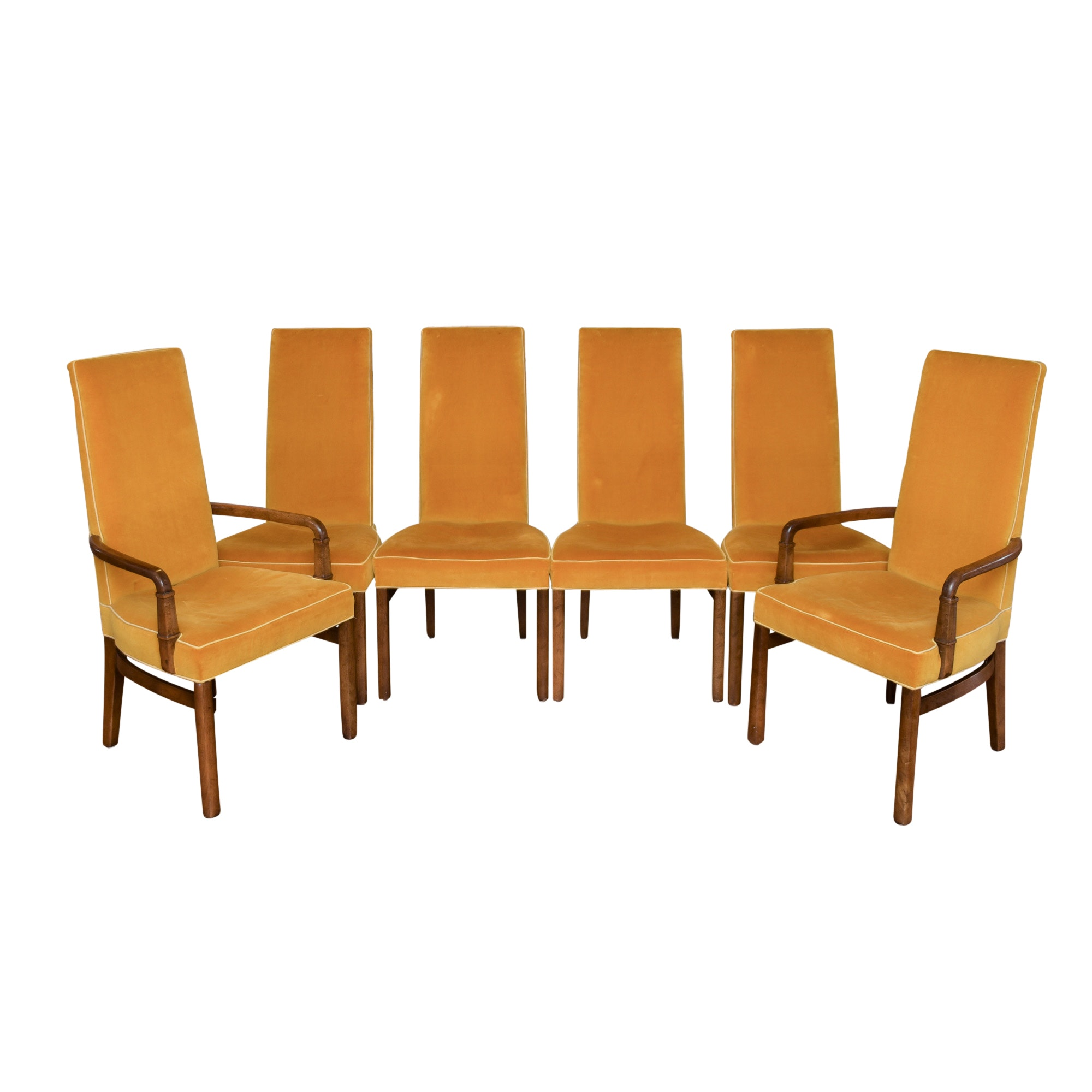 High Back Dining Chairs by Drexel
