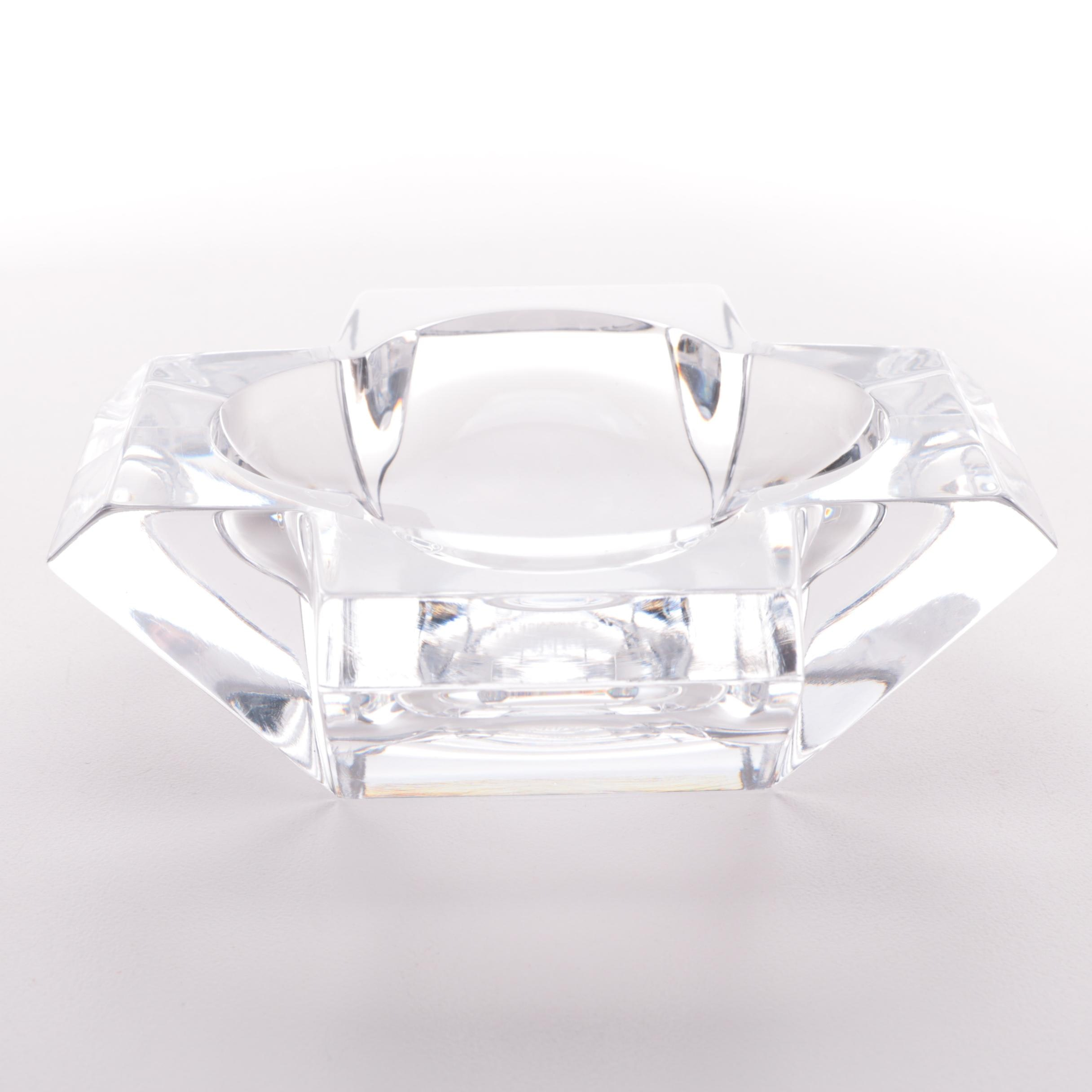 Royales De Champagne Cruciform Crystal Ashtray