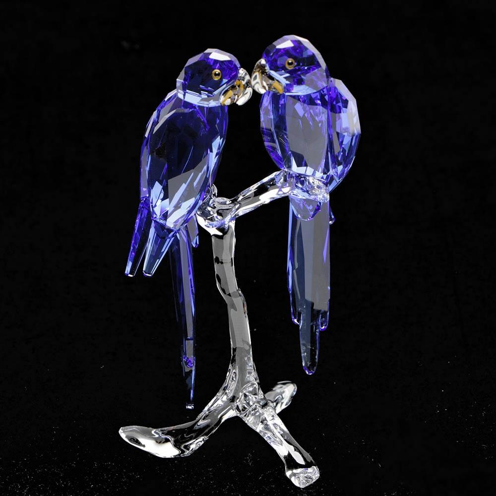 Swarovski Crystal Hyacinth Macaw Figurine