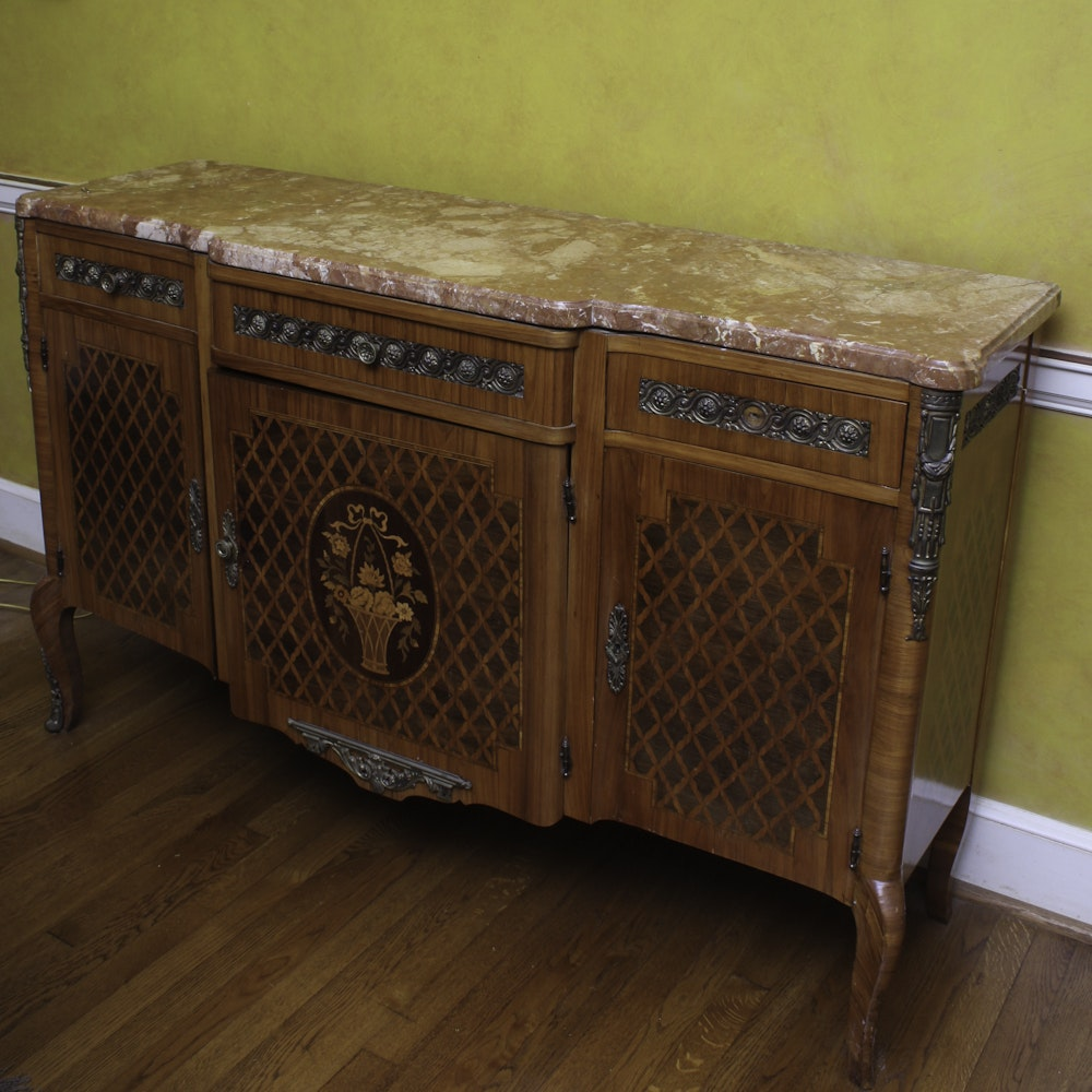 Vintage Louis XV Style Commode