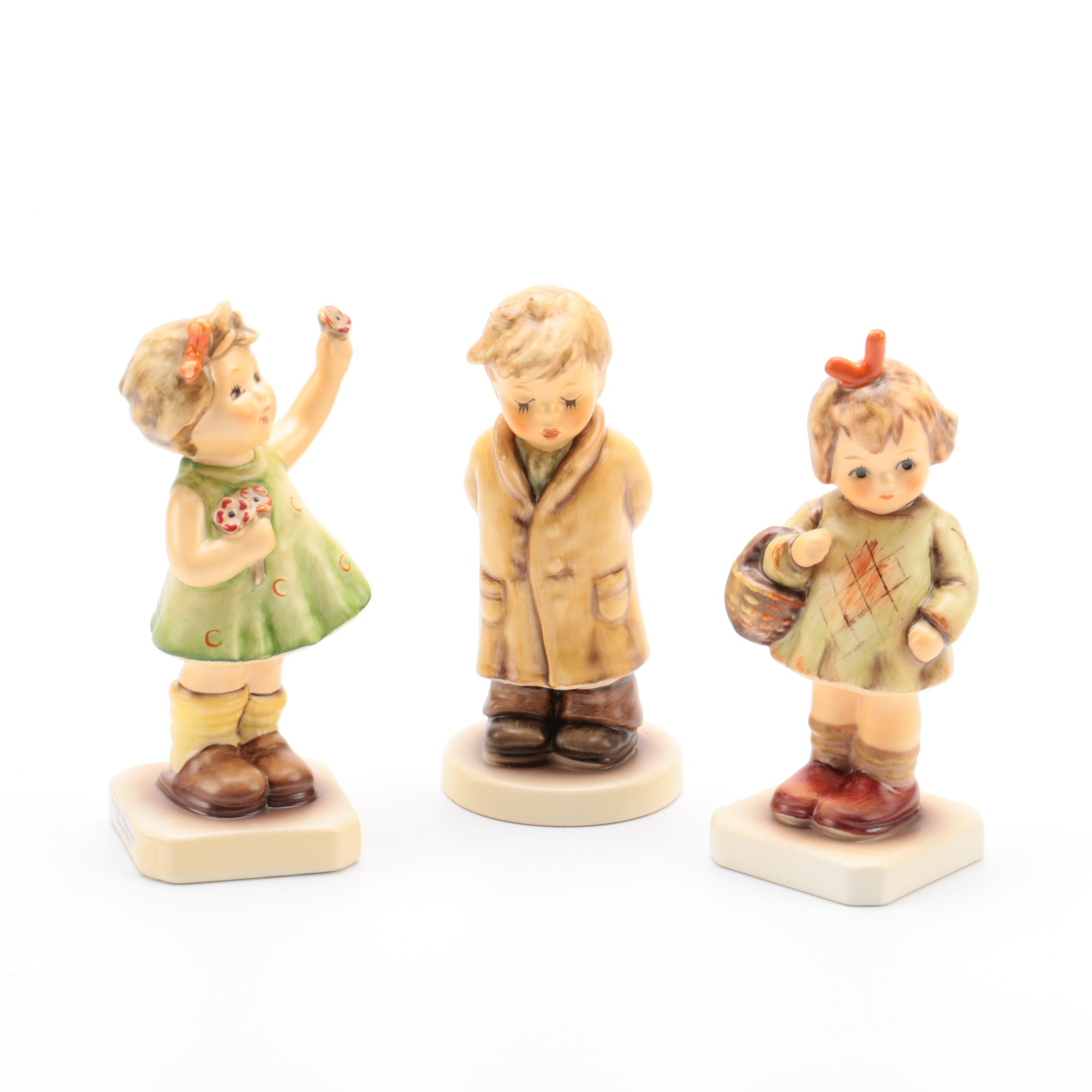 "M.I. Hummel Club Porcelain Figurines Featuring ""Forever Yours"""