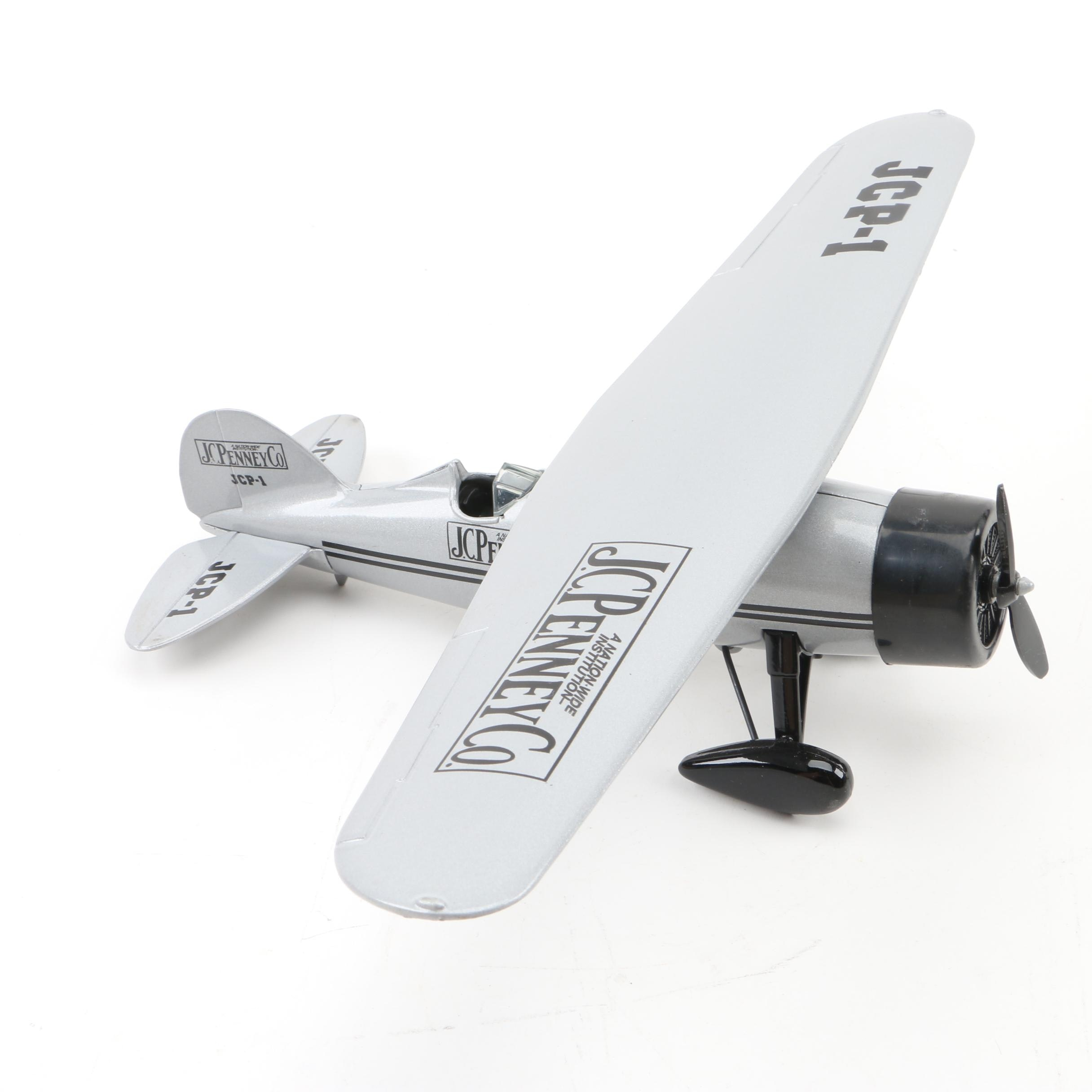 "1929 Lockheed J.C. Penney Co. ""Air Express"" Die-Cast Coin Bank"