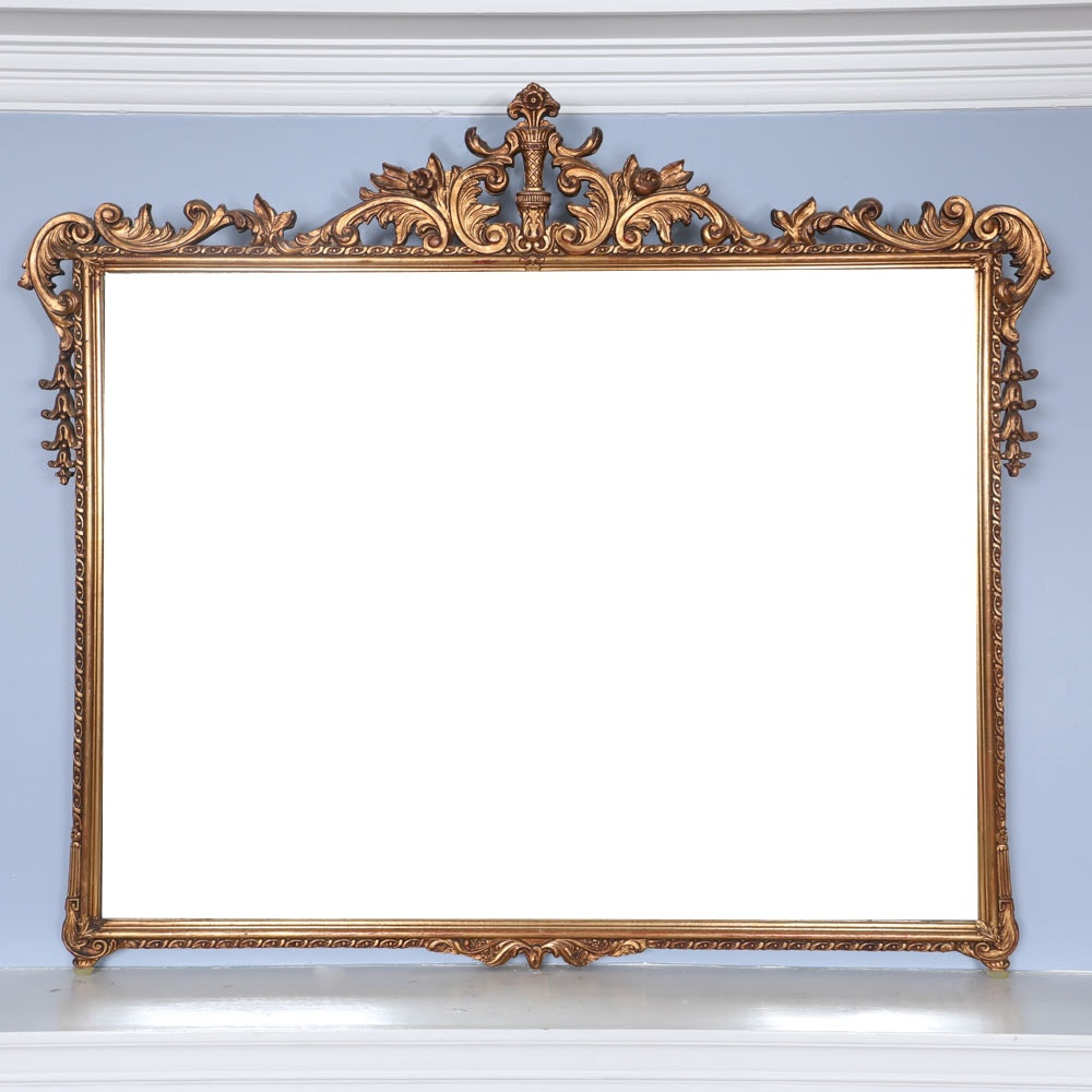 Vintage French Style Wall Mirror