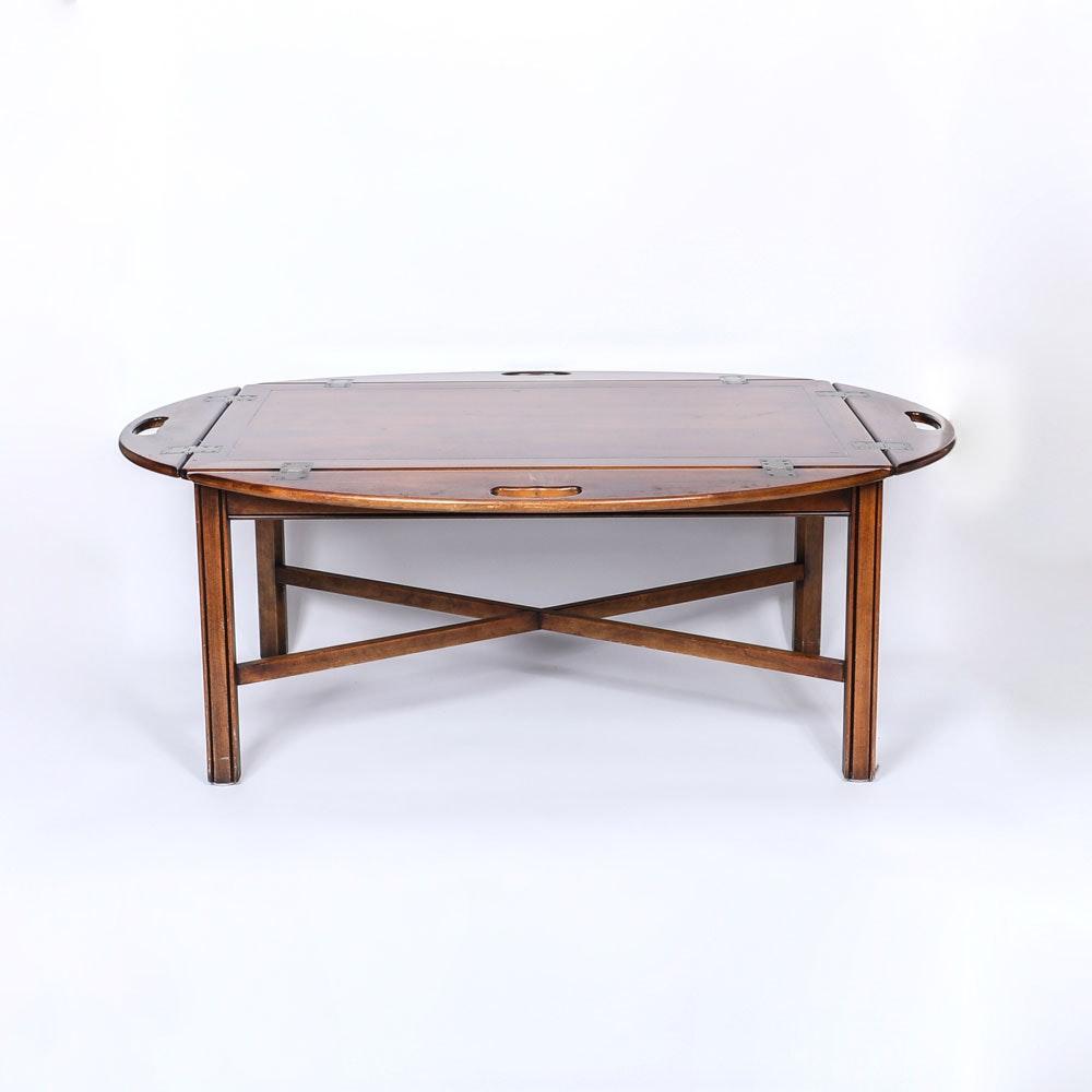 Vintage Mahogany Finish Butler's Table