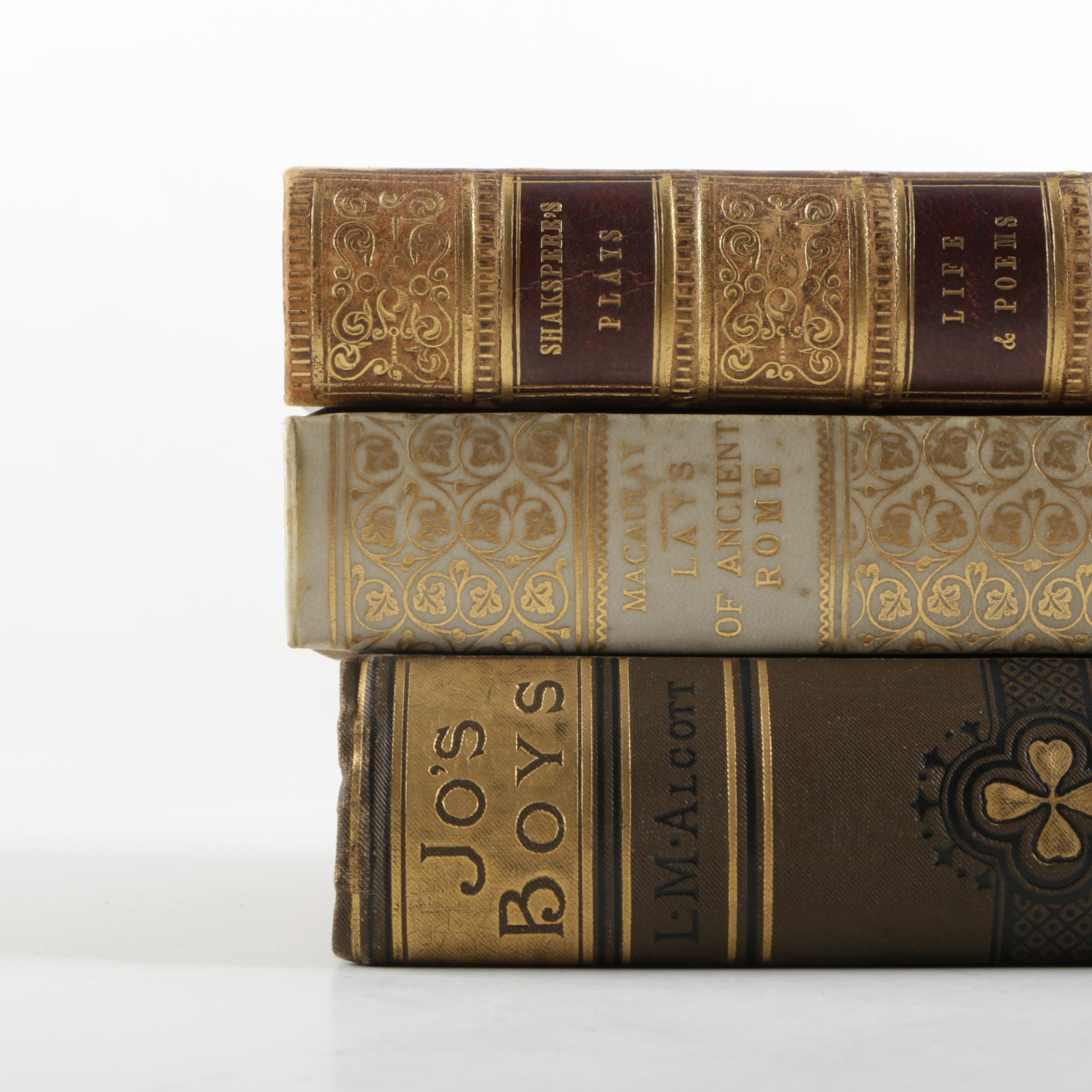 """1851 Tauchnitz Edition """"Lays of Ancient Rome"""" and More"""