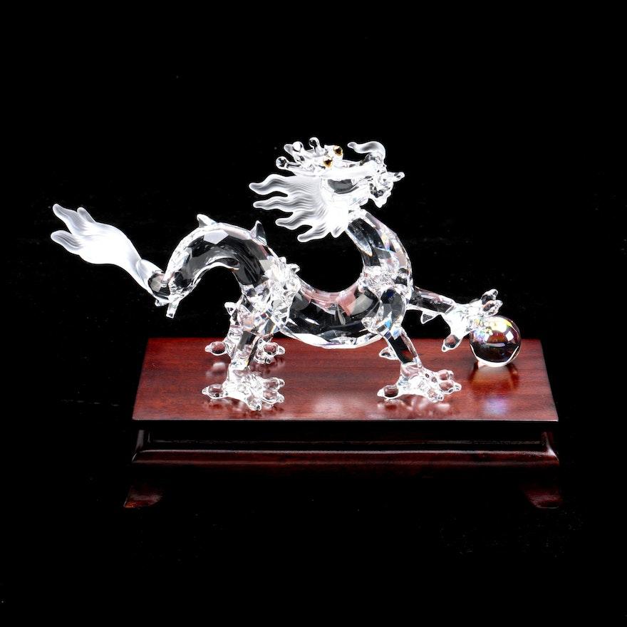89cb0fab1 Swarovski Crystal Dragon Figurine : EBTH