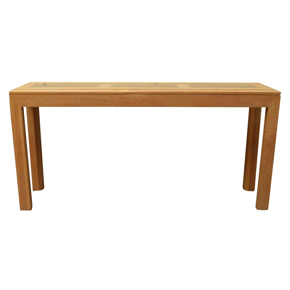 Parson's Style Sofa Table