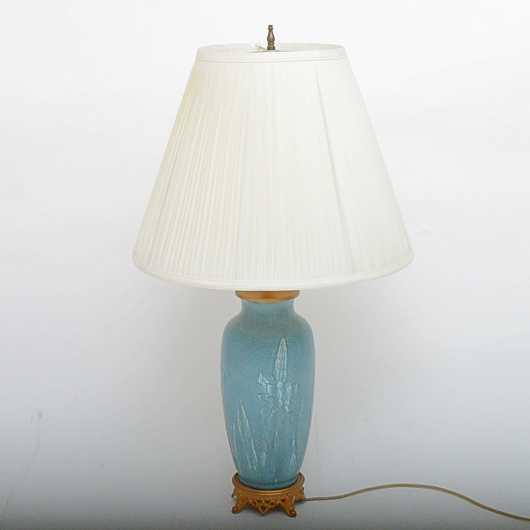Rookwood Pottery-Style Table Lamp