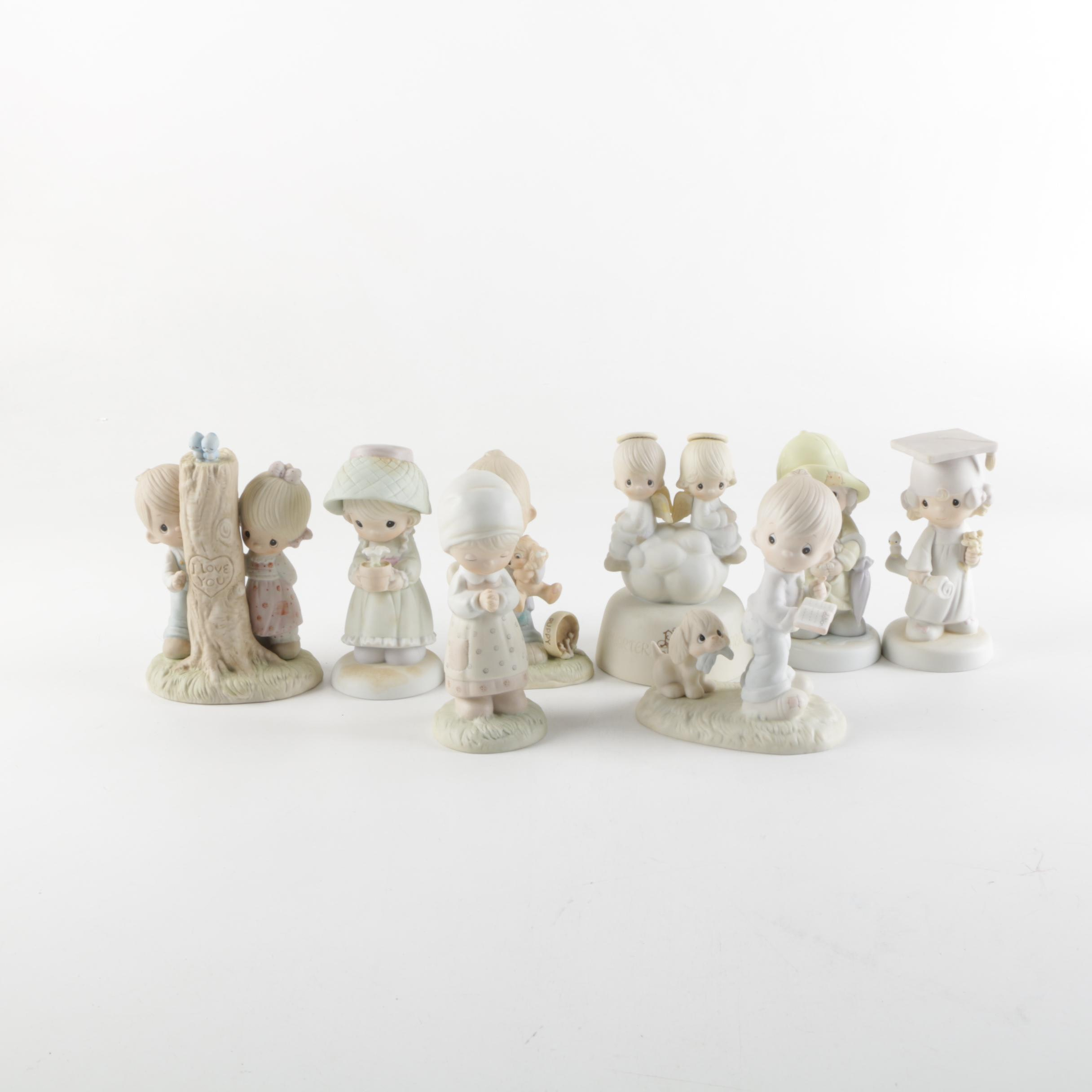 Collection of Precious Moments Figurines
